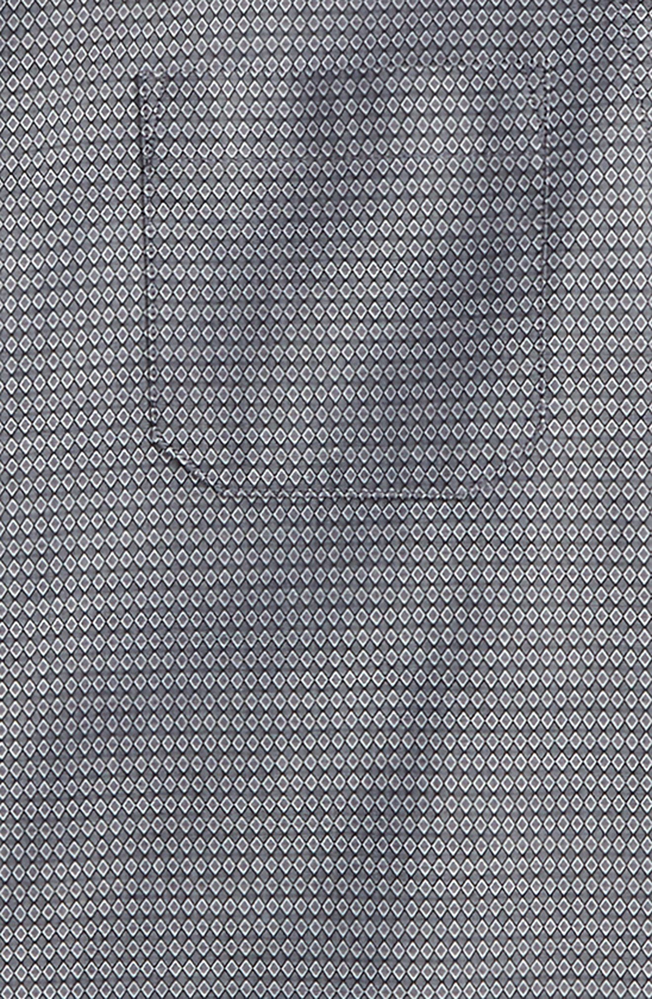 Diamond Grid Dress Shirt,                             Alternate thumbnail 2, color,