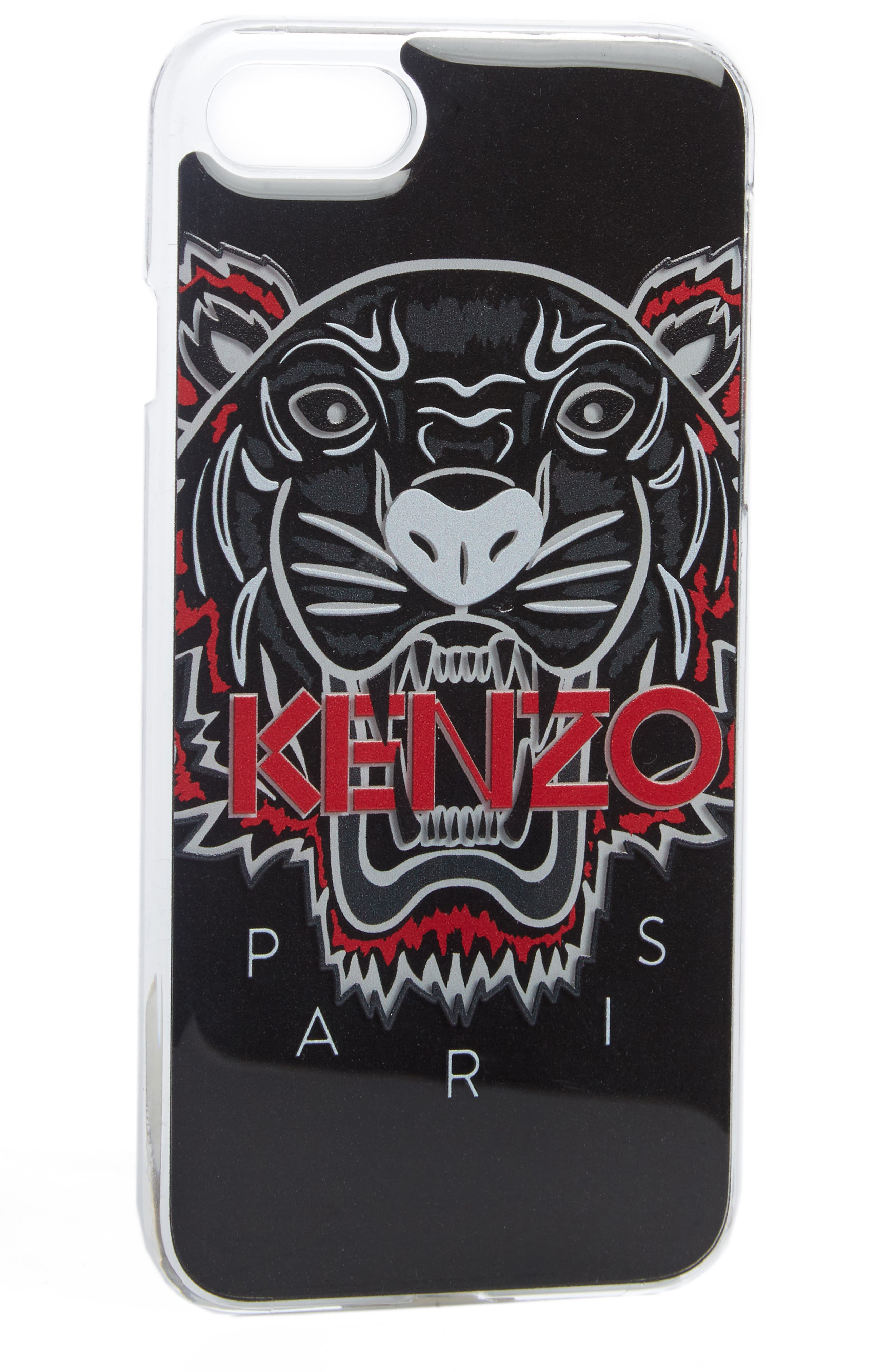 3D Tiger iPhone 7 Case,                             Alternate thumbnail 2, color,                             001