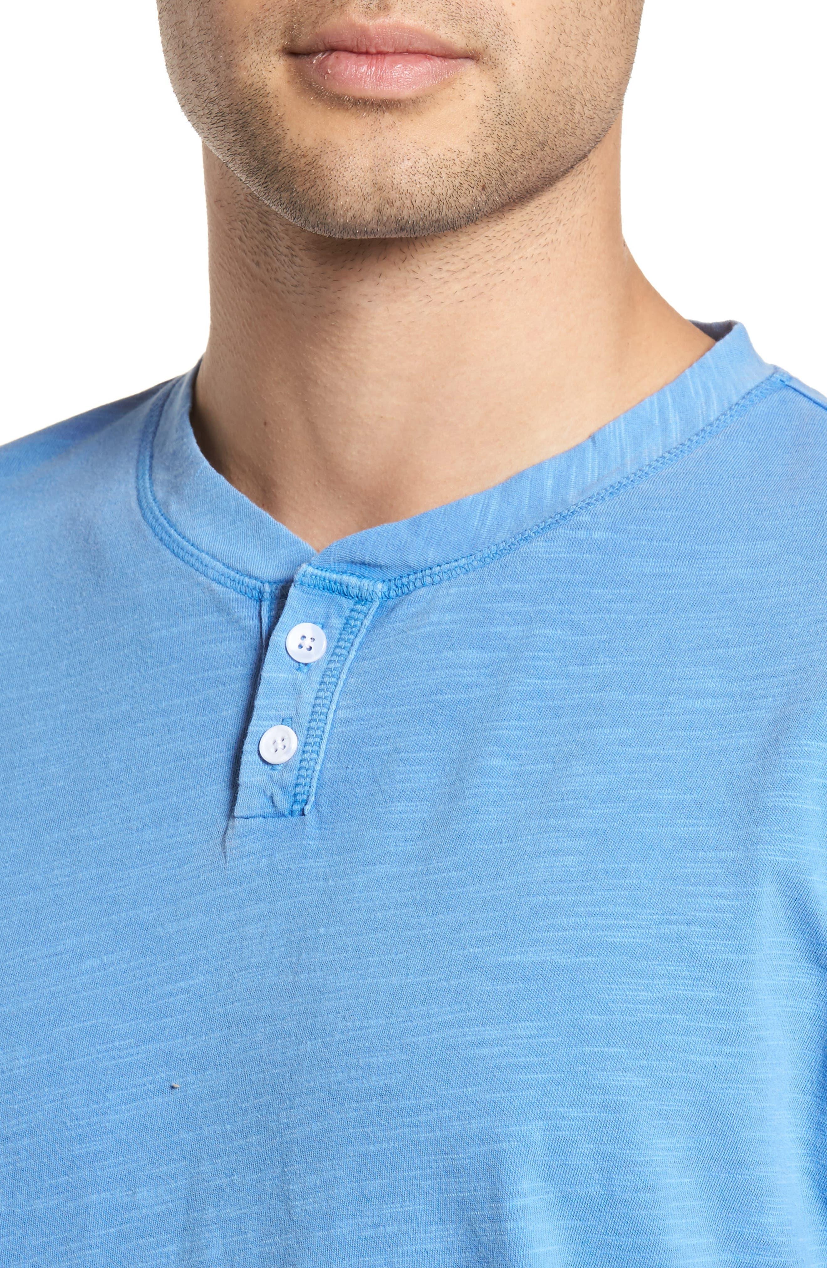 Garment Dye Slub Knit Henley,                             Alternate thumbnail 20, color,