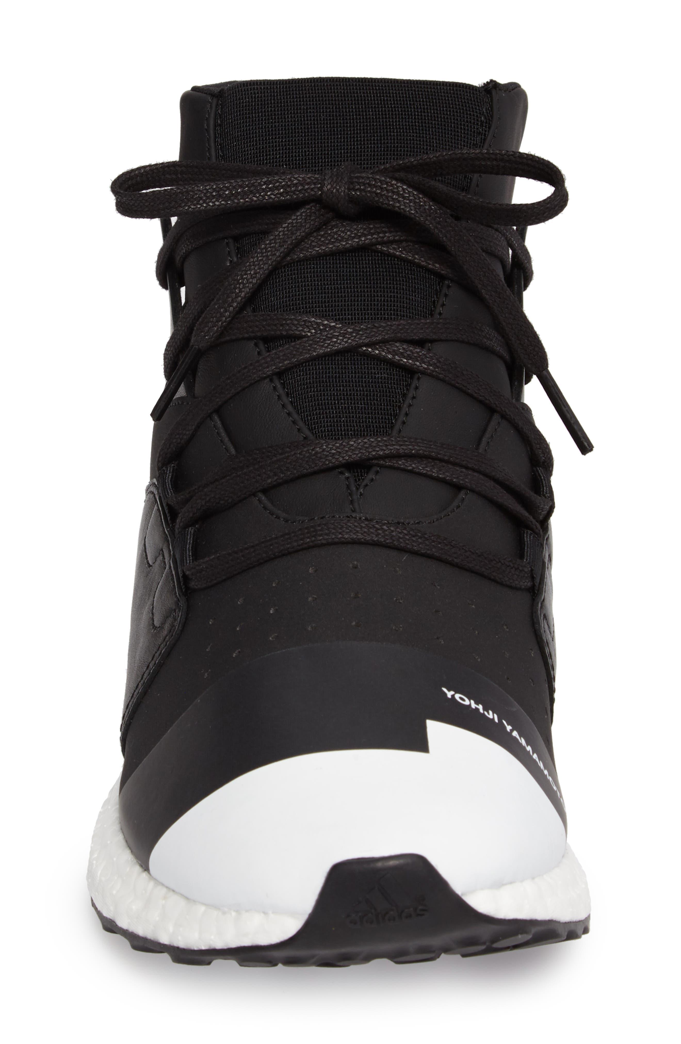 Y-3,                             Kozoko High Sneaker,                             Alternate thumbnail 4, color,                             001