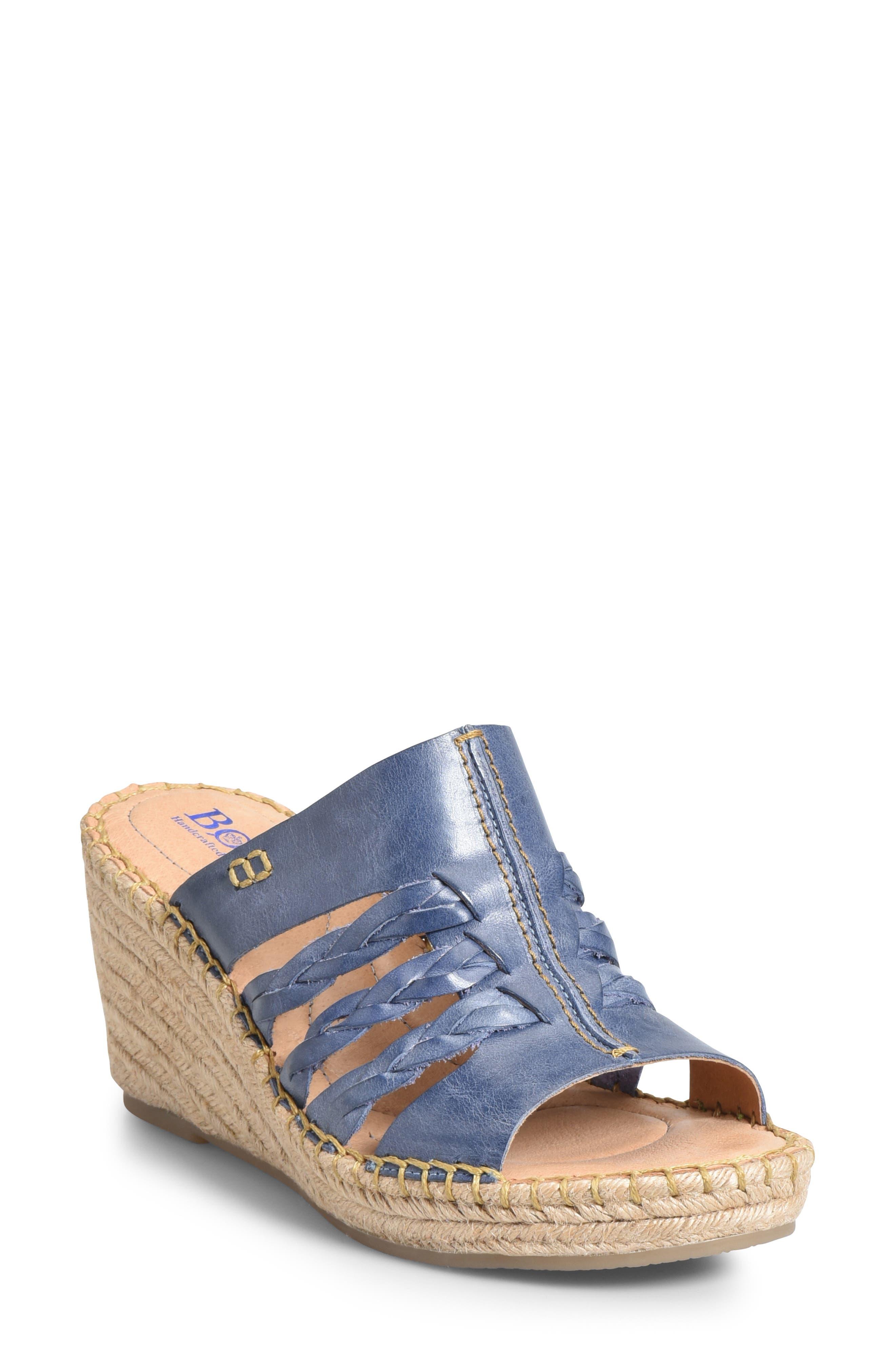 B?rn Pinal Wedge Slide Sandal