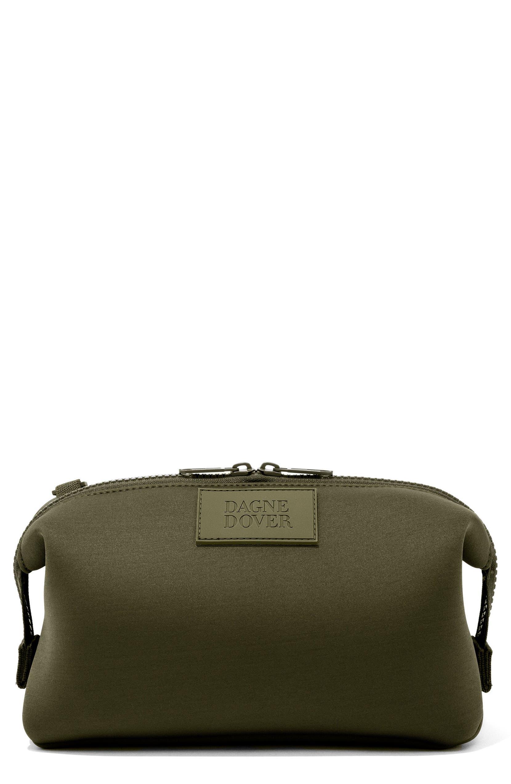 7b0742935d93 Dagne Dover Large Hunter Neoprene Toiletry Bag
