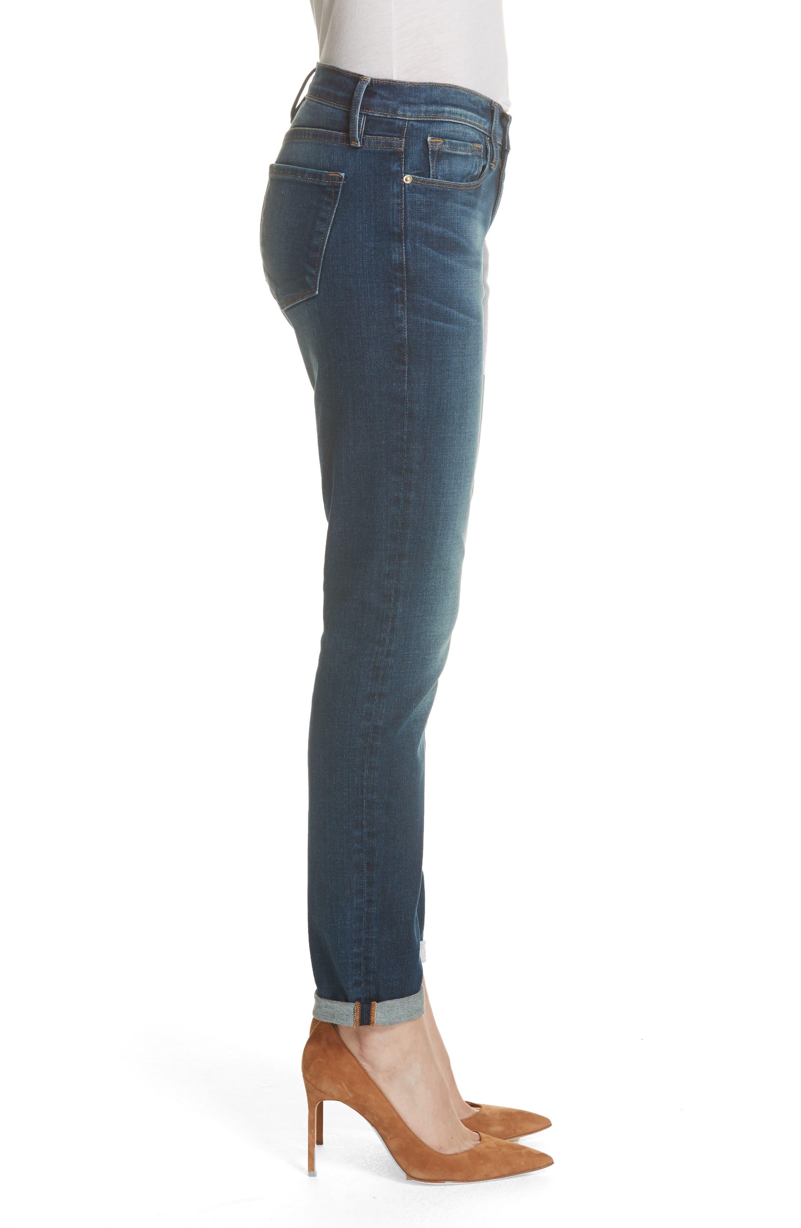 Le Garcon Slim Boyfriend Jeans,                             Alternate thumbnail 3, color,                             WESTFIELD