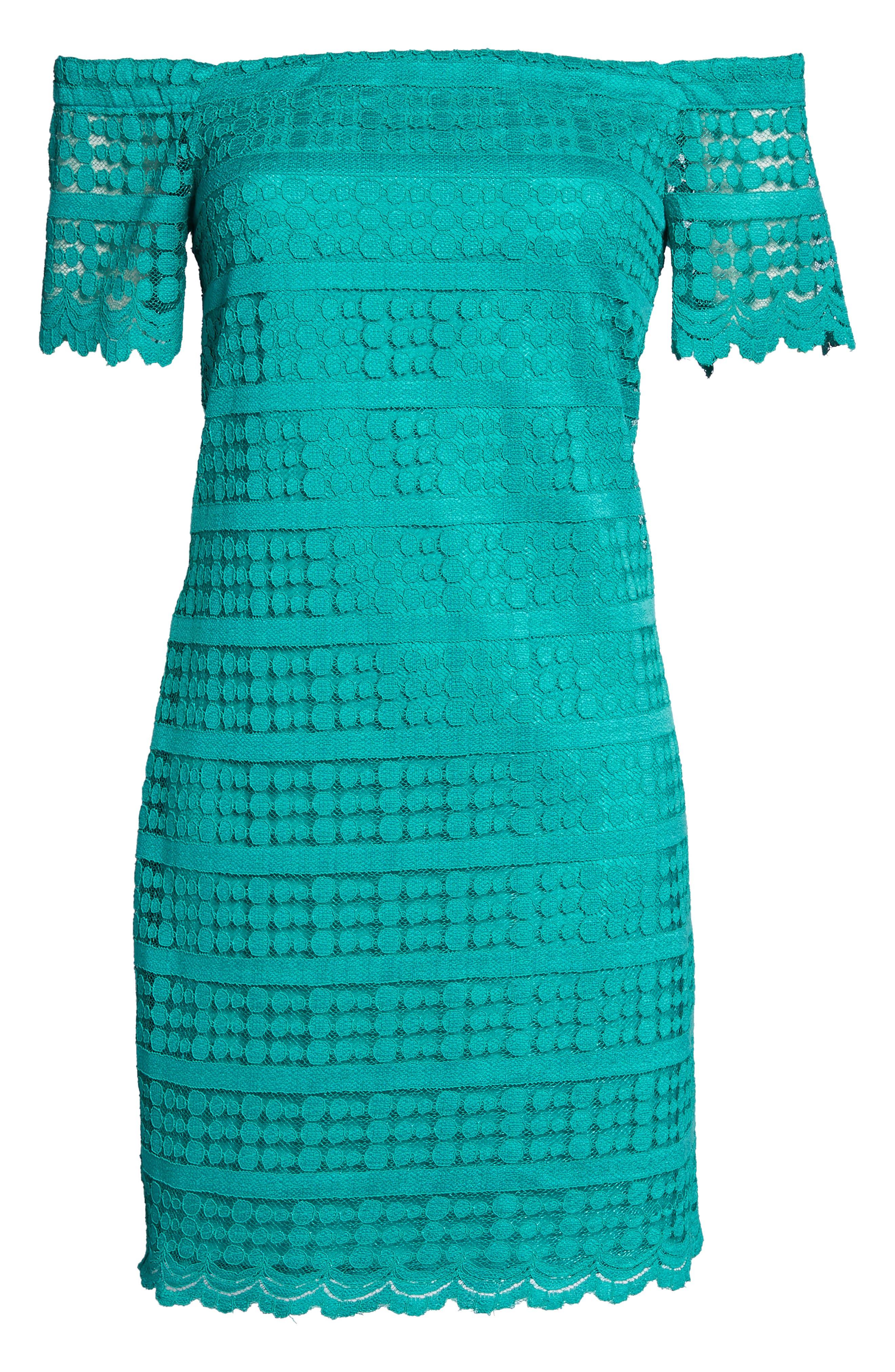 Merengue Off the Shoulder Minidress,                             Alternate thumbnail 12, color,