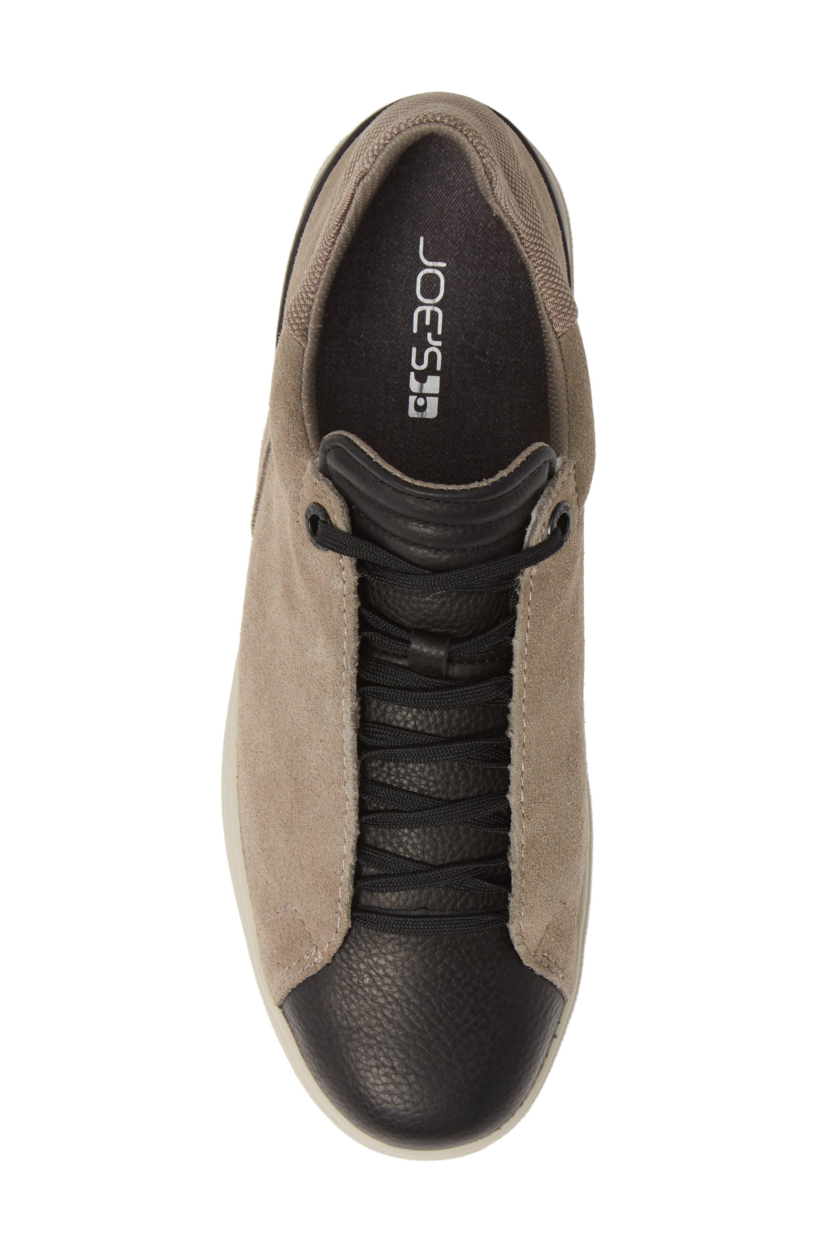 Joe Papa Low Top Sneaker,                             Alternate thumbnail 5, color,                             STONE/ BLACK