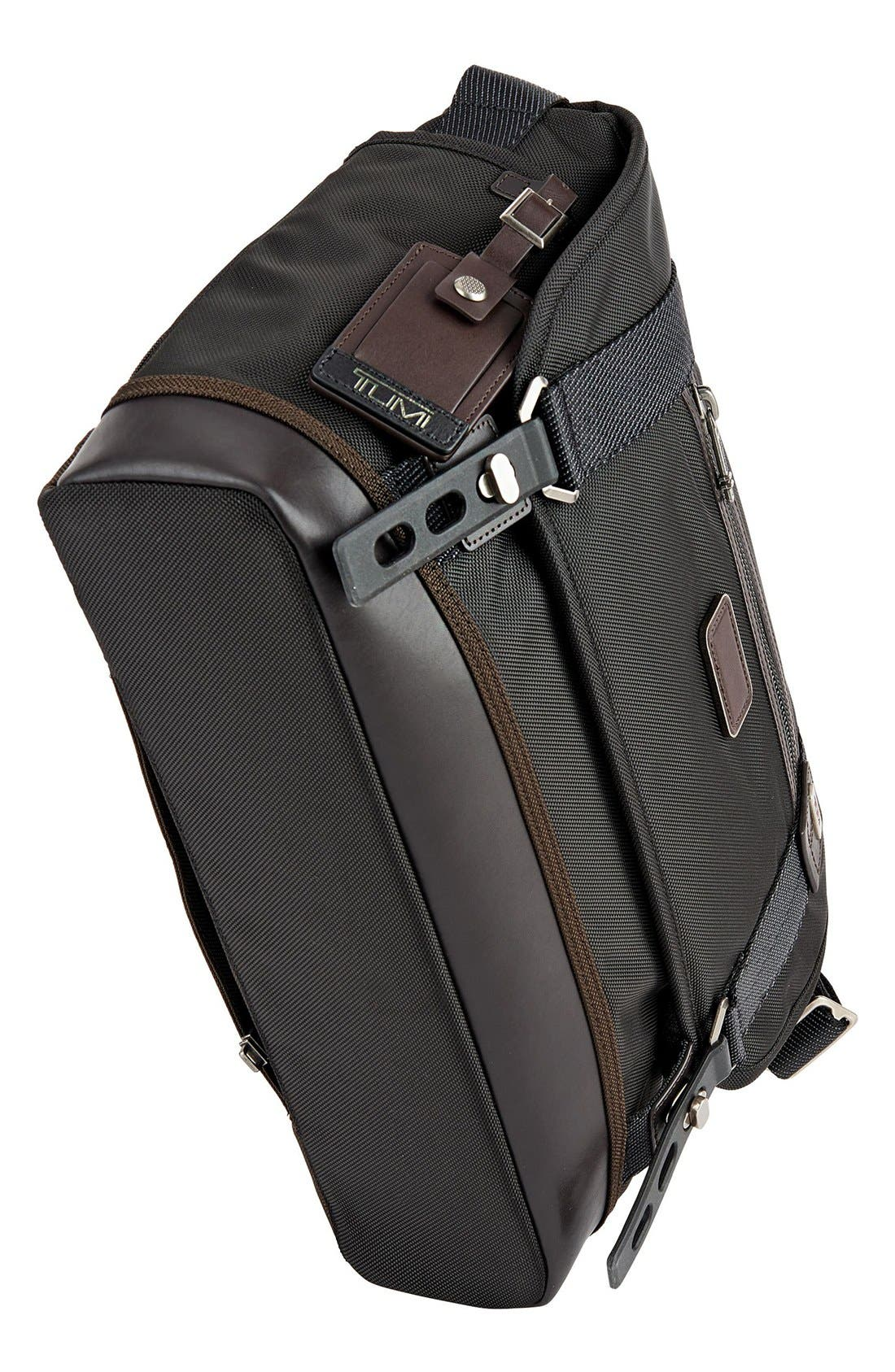 'Alpha Bravo - Foster' Messenger Bag,                             Alternate thumbnail 3, color,                             001