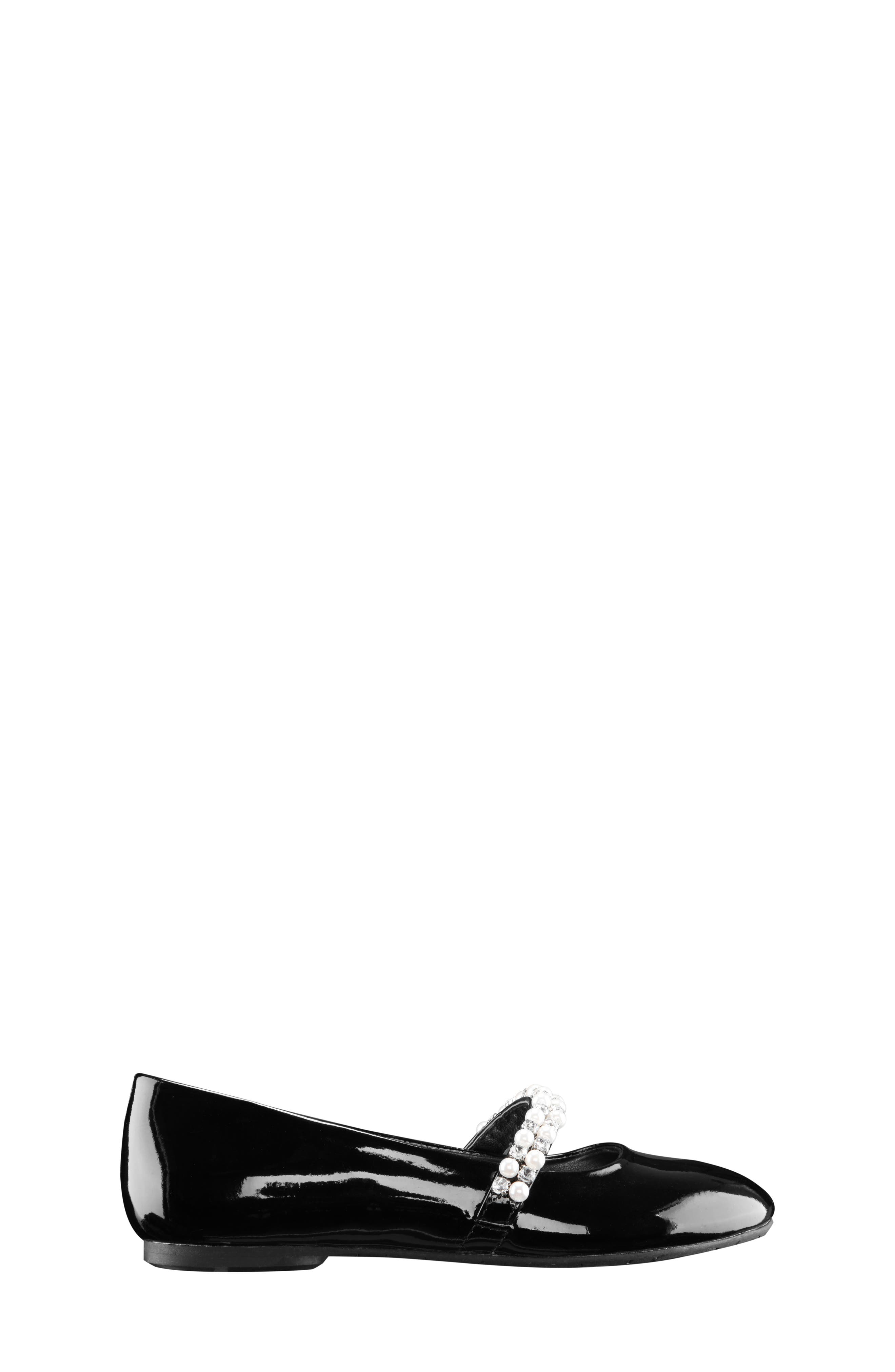 'Nataly' Slip-On,                             Alternate thumbnail 4, color,                             BLACK PATENT