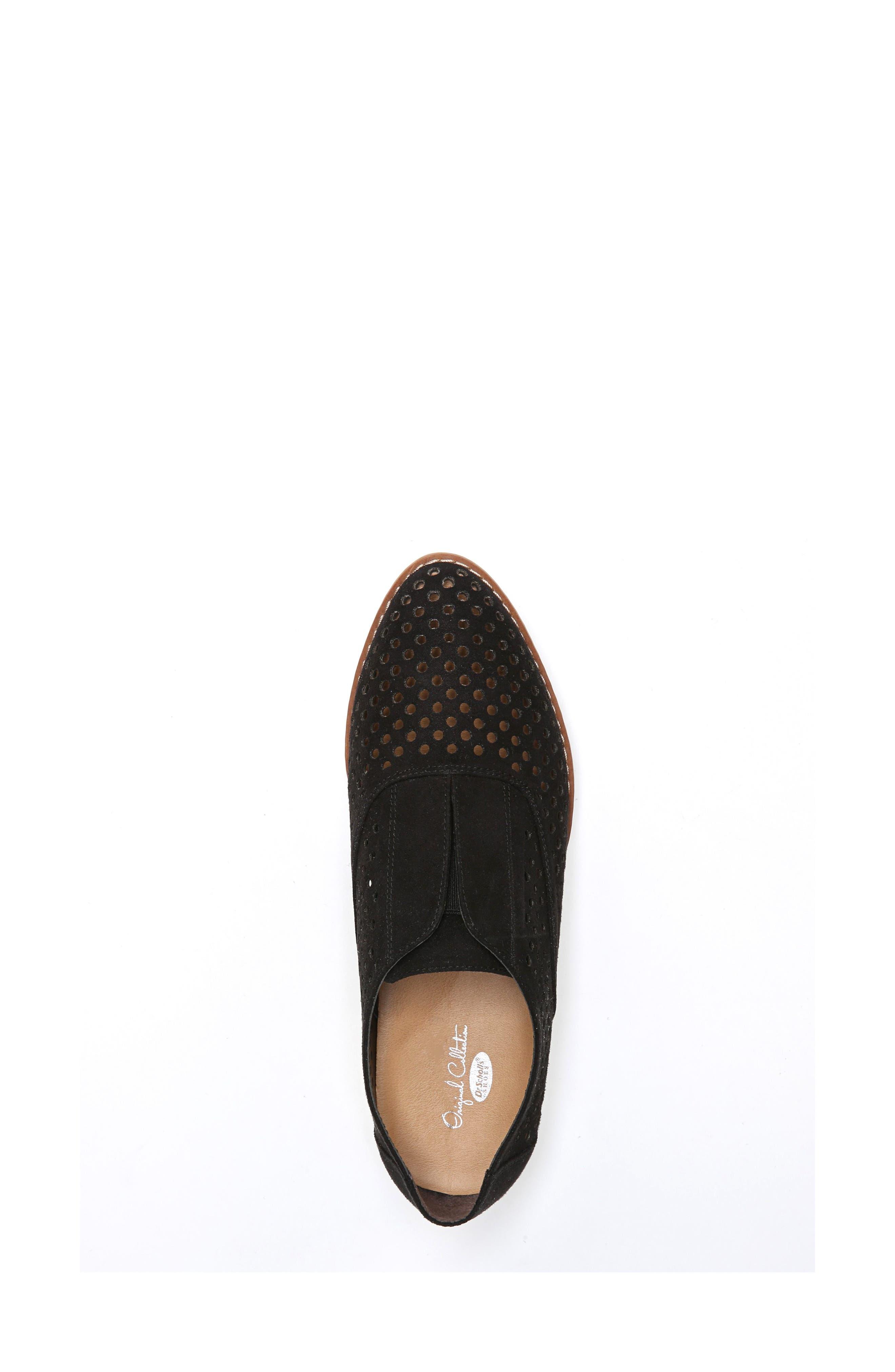 Improve Slip-On Sneaker,                             Alternate thumbnail 5, color,                             BLACK FABRIC