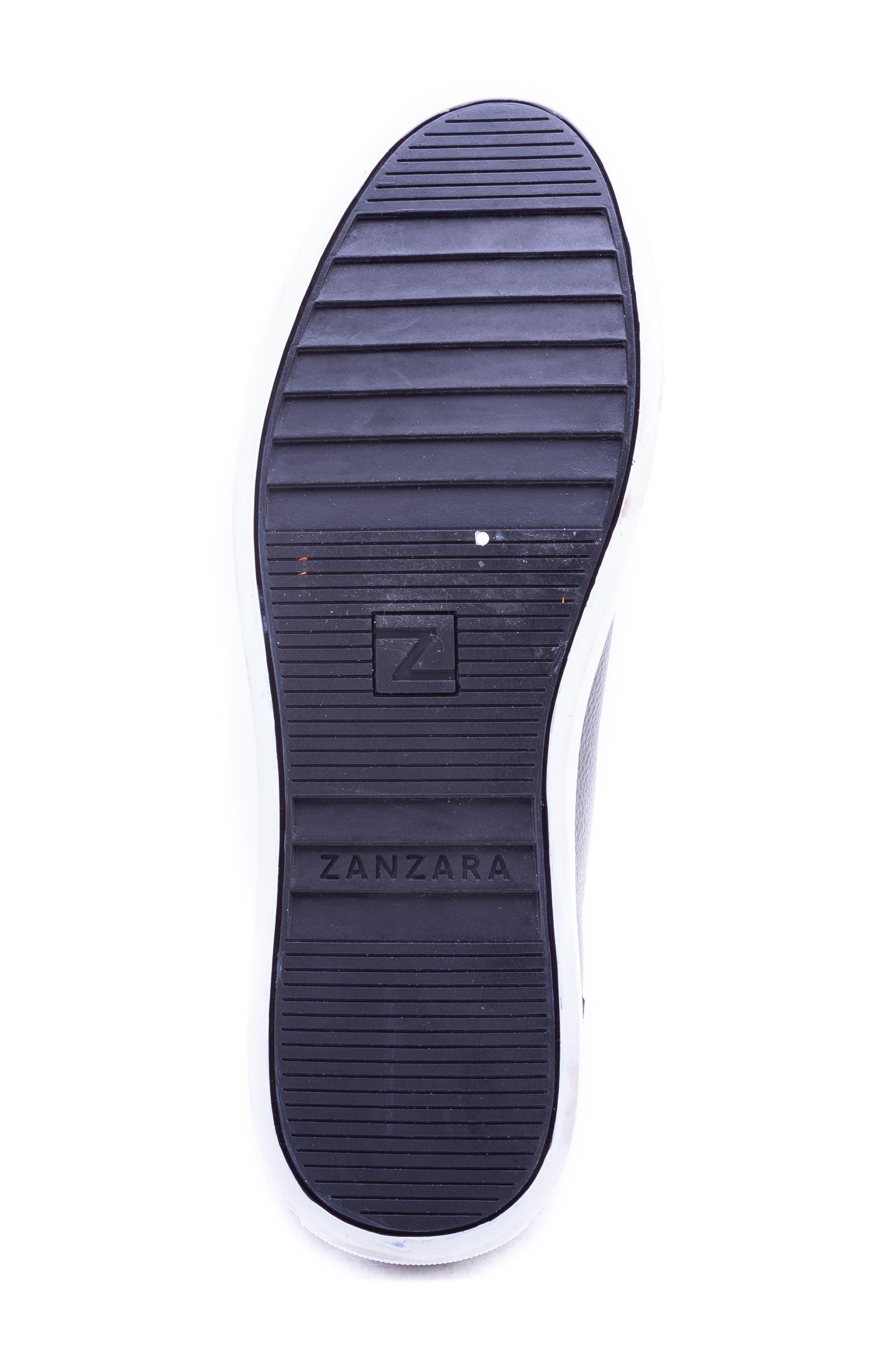 Tassel High Top Sneaker,                             Alternate thumbnail 5, color,                             GREY LEATHER