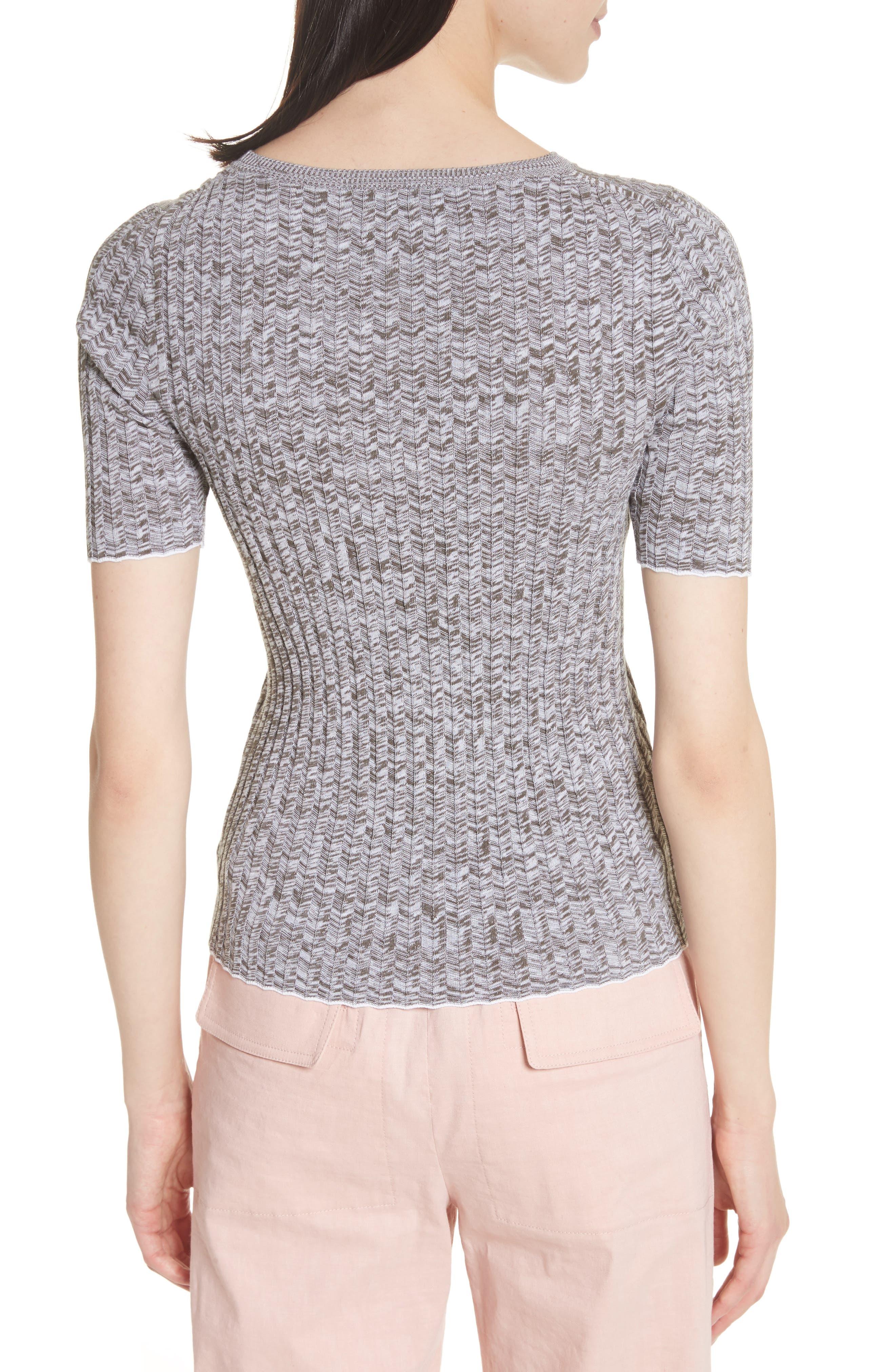 Marled Rib Knit Crewneck Sweater,                             Alternate thumbnail 2, color,                             197
