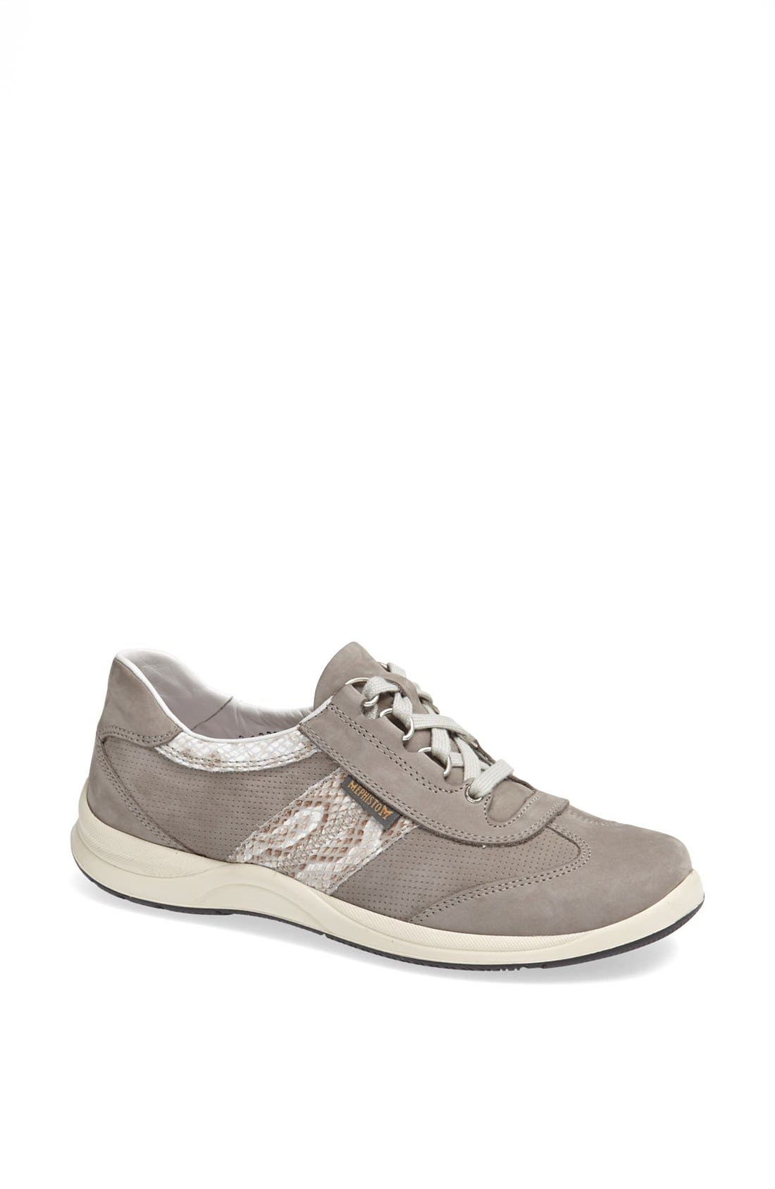 Laser Perforated Walking Shoe,                             Main thumbnail 4, color,
