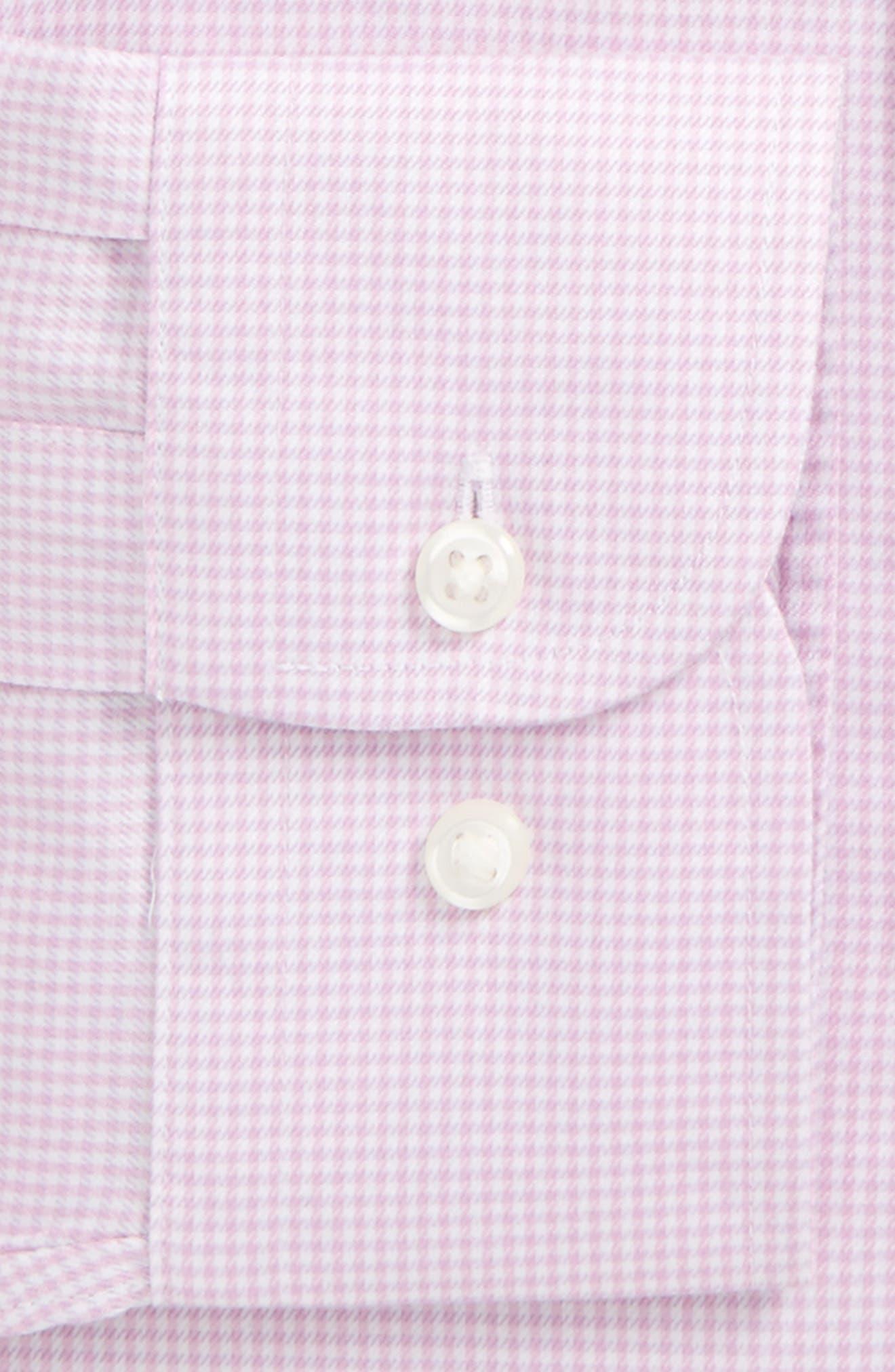 Smartcare<sup>™</sup> Traditional Fit Stripe Dress Shirt,                             Alternate thumbnail 18, color,
