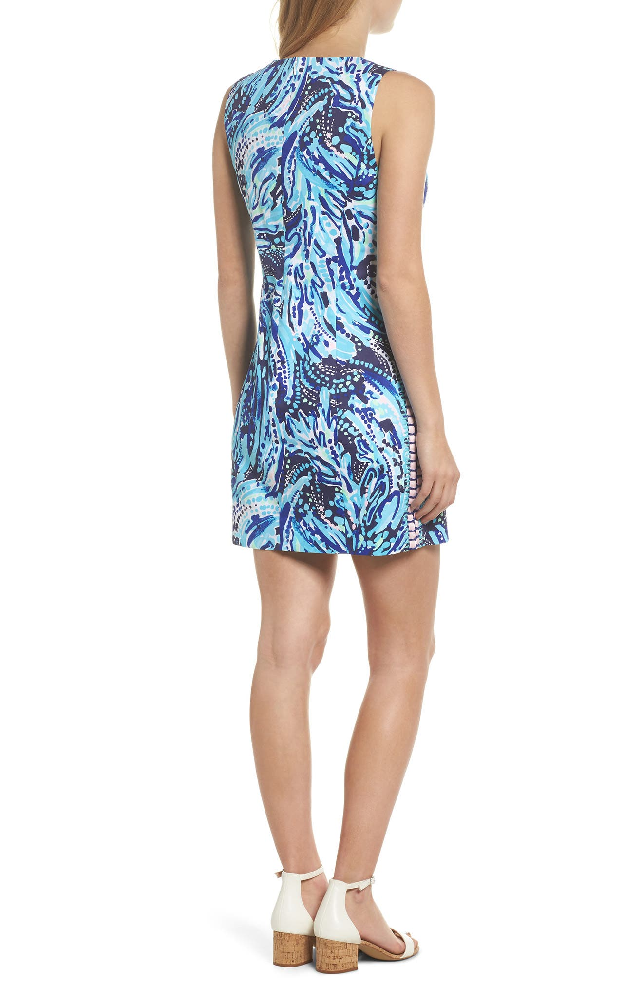 Mila Sheath Dress,                             Alternate thumbnail 2, color,                             410