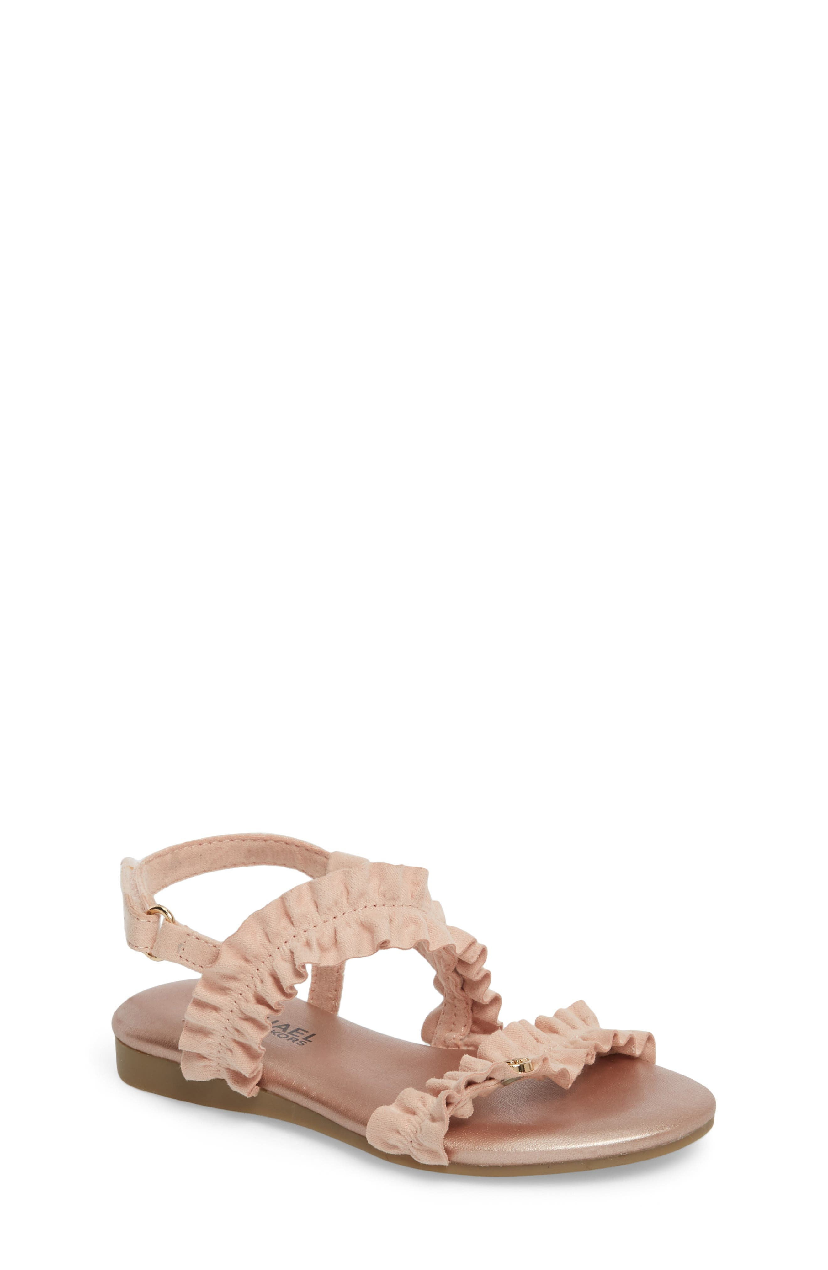 Demi Frillz Sandal,                             Main thumbnail 1, color,                             654