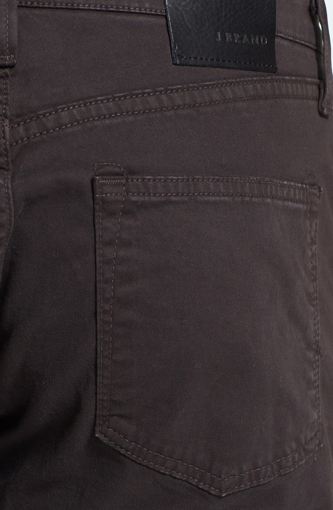 'Kane' Slim Fit Cotton Twill Pants,                             Alternate thumbnail 30, color,