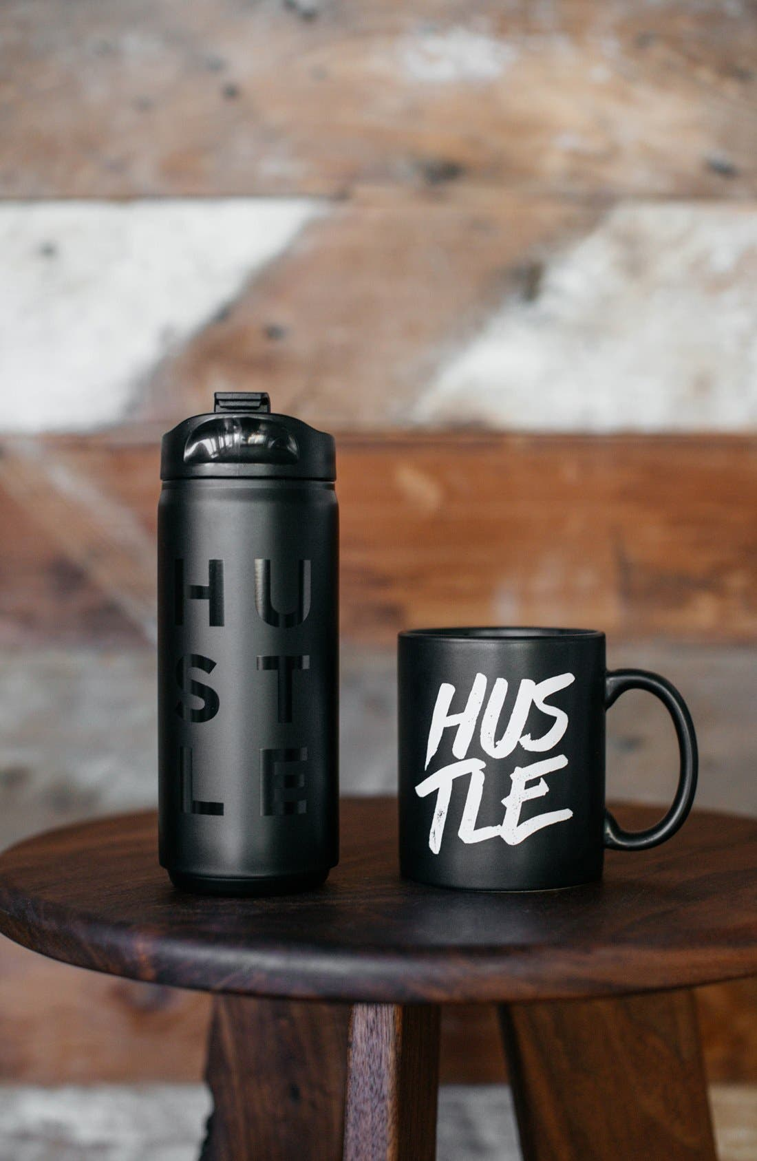 'Hustle' Mug,                             Alternate thumbnail 5, color,                             001