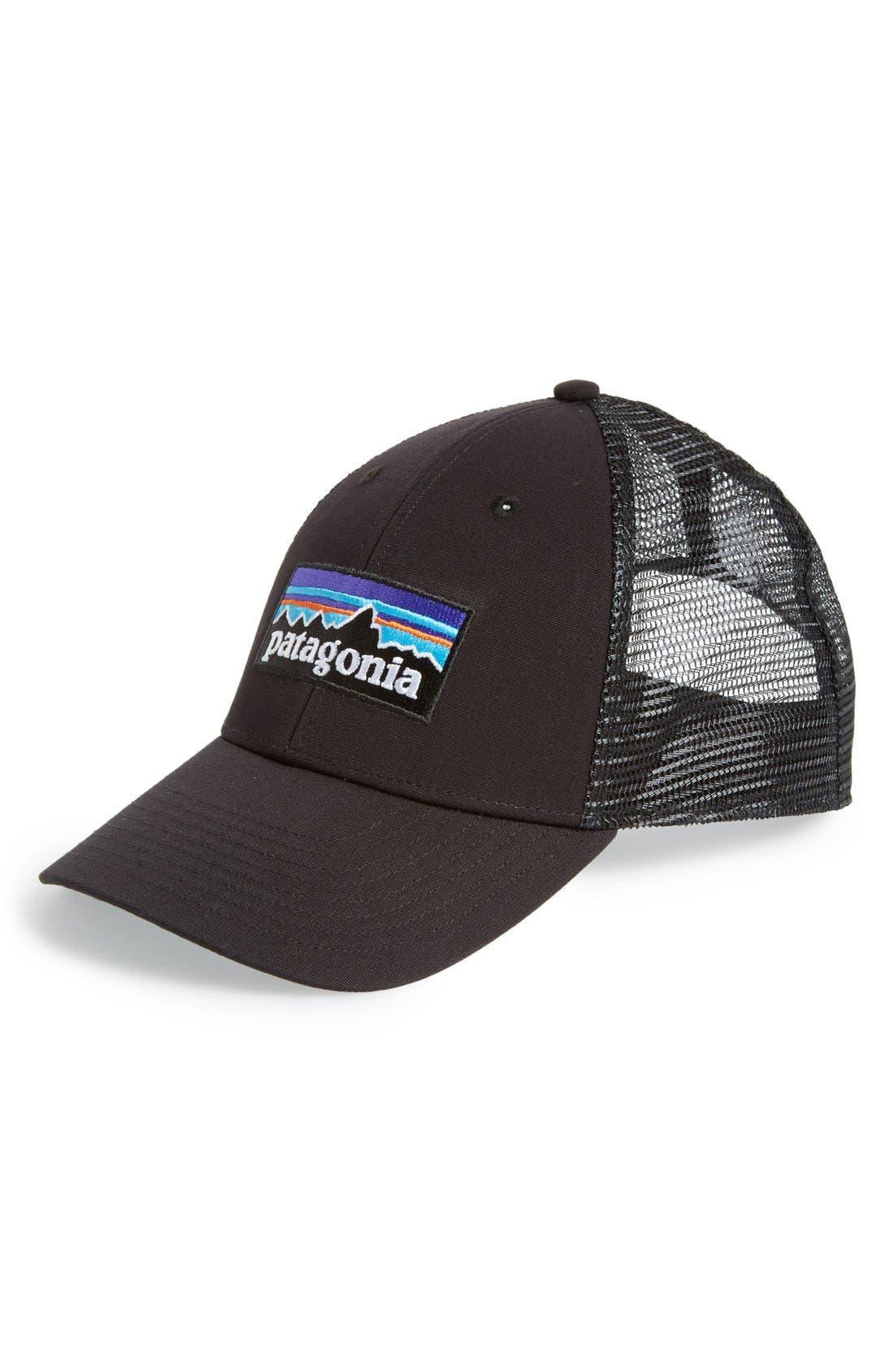 'PG - Lo Pro' Trucker Hat,                             Main thumbnail 1, color,                             BLACK