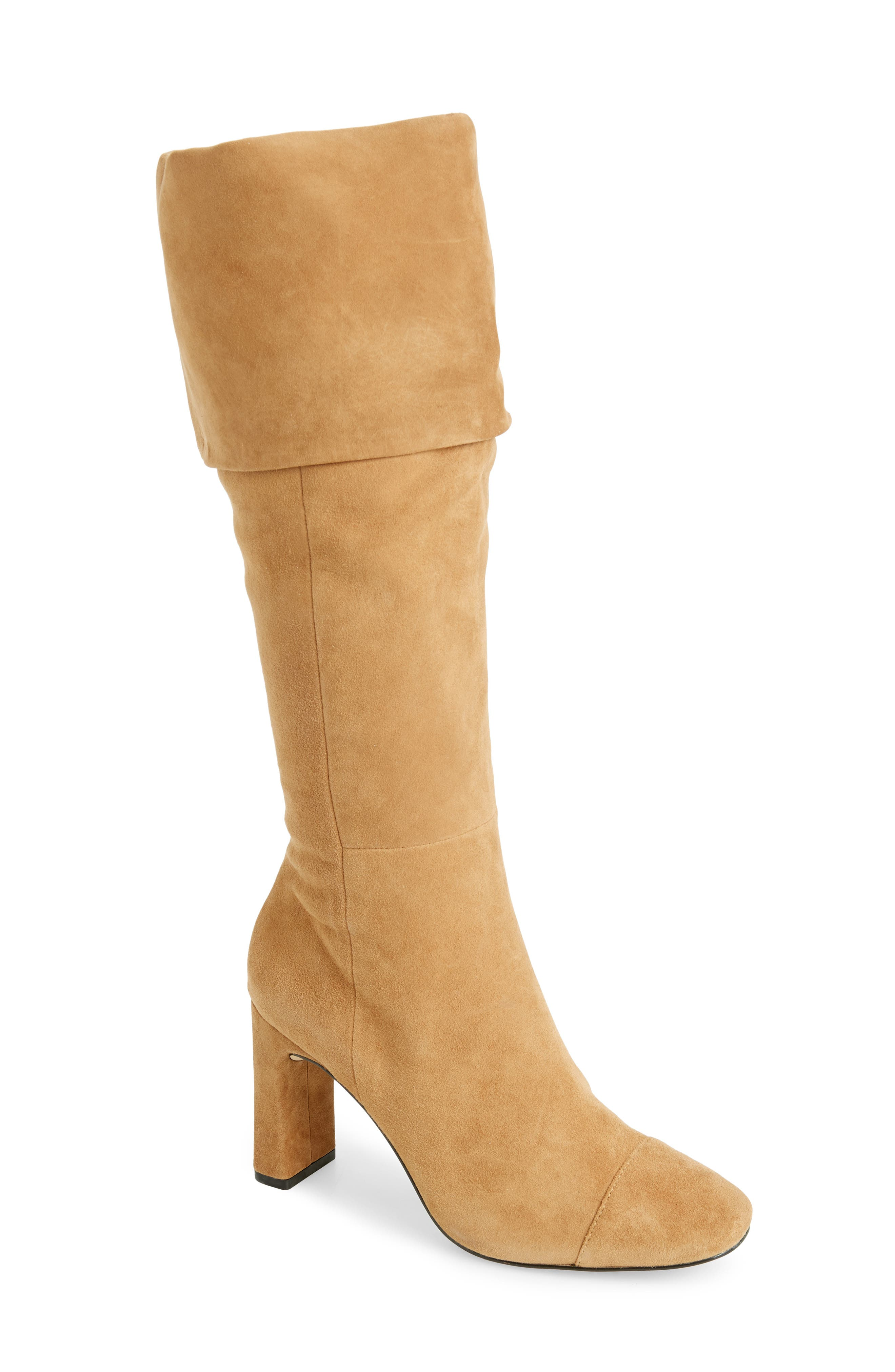 Something Navy Mia Knee High Boot, Brown