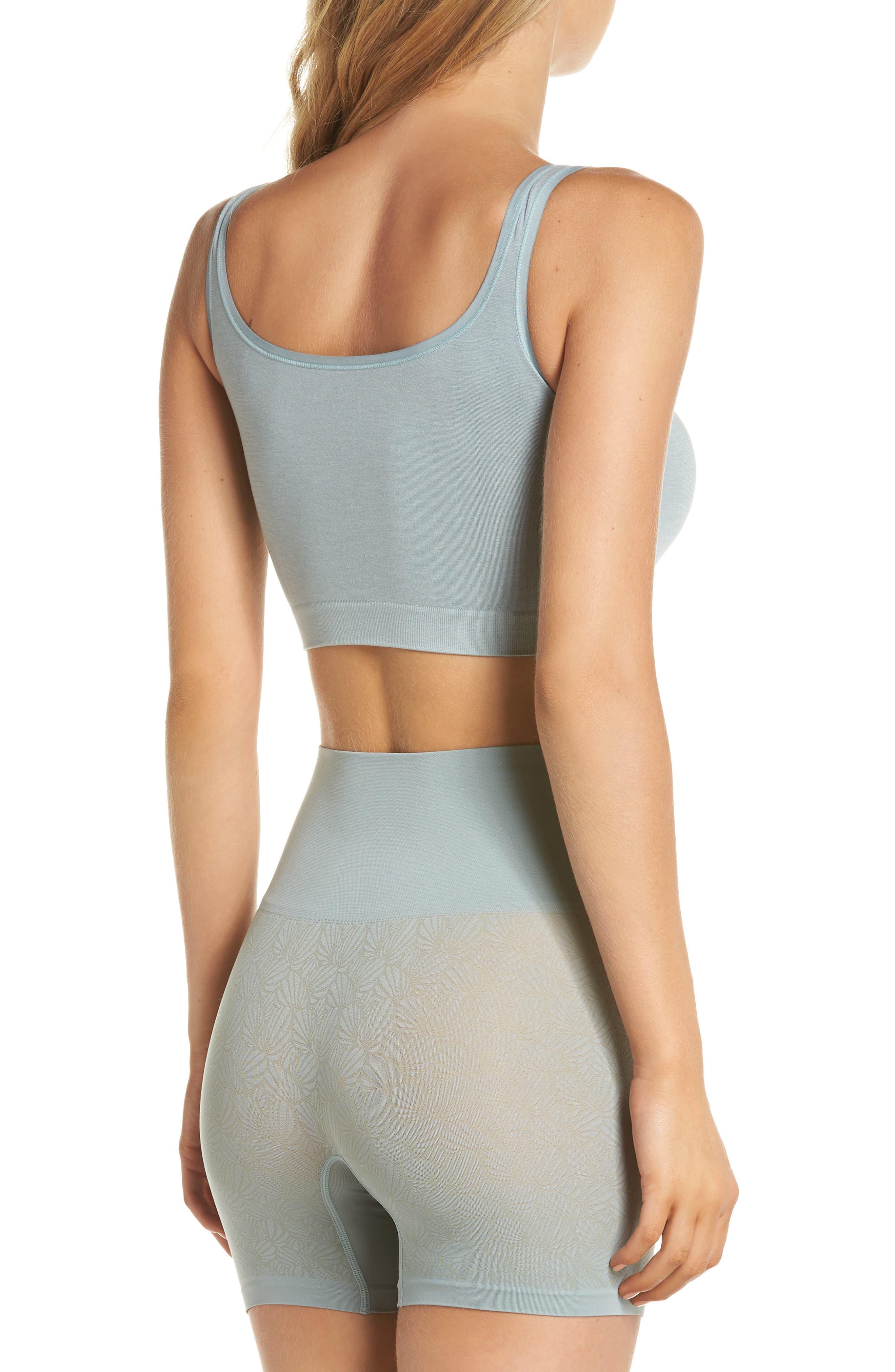 Ultralight Seamless Shaping Shorts,                             Alternate thumbnail 8, color,                             SILVER BLUE