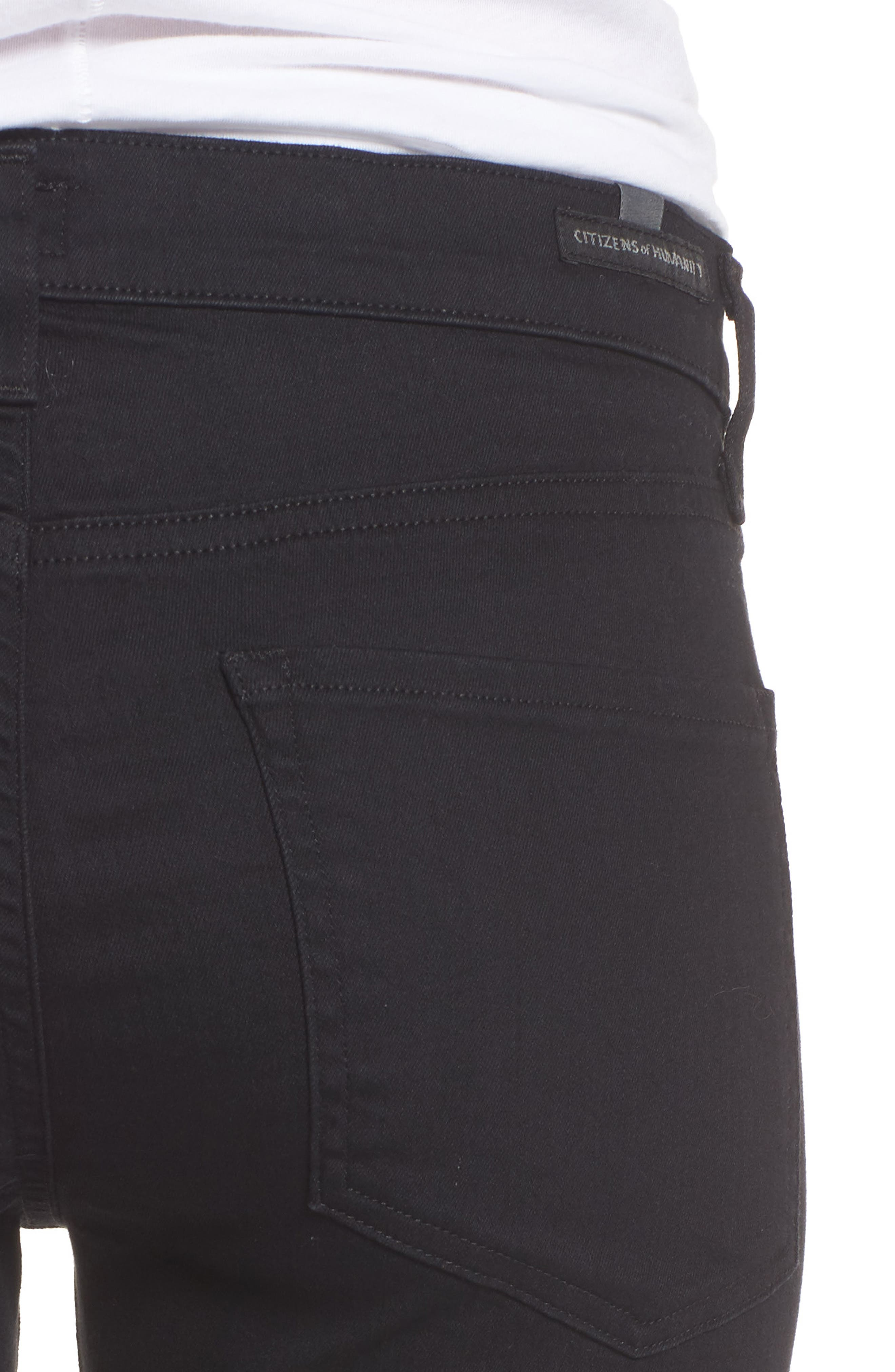 Agnes Long Jeans,                             Alternate thumbnail 4, color,                             012