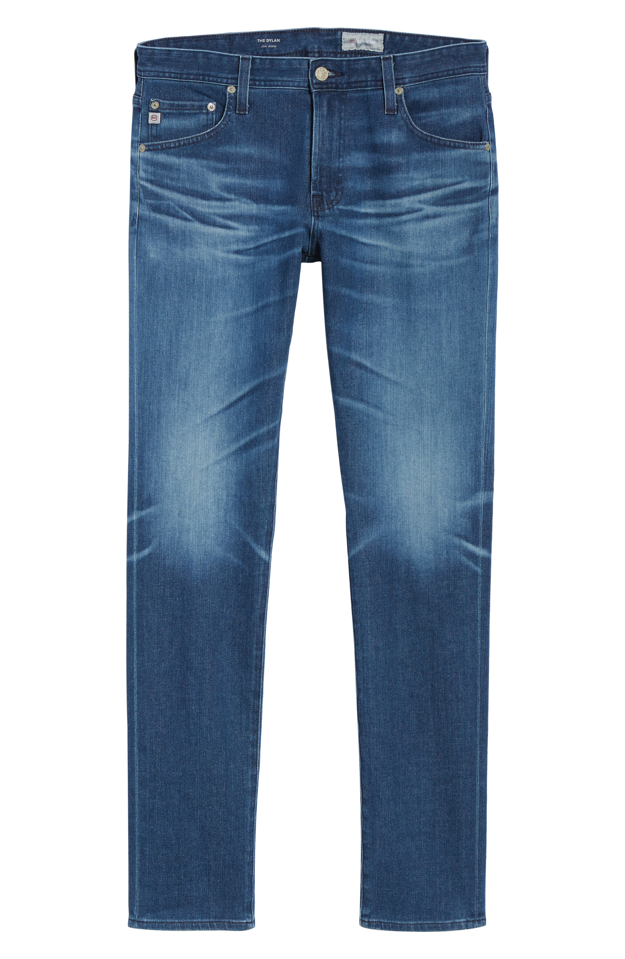 Dylan Skinny Fit Jeans,                             Alternate thumbnail 6, color,                             437