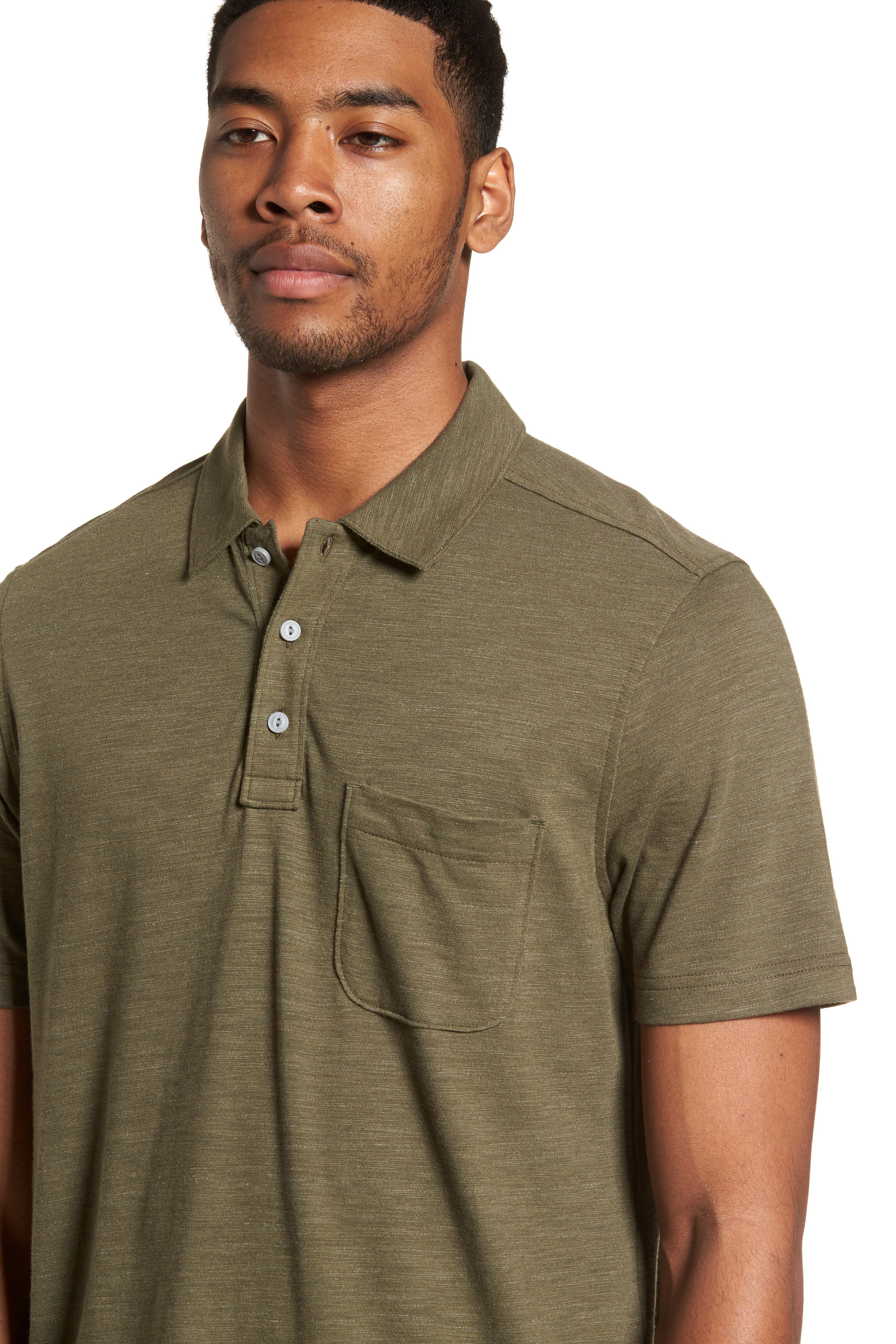 Space Dyed Pocket Polo,                             Alternate thumbnail 23, color,