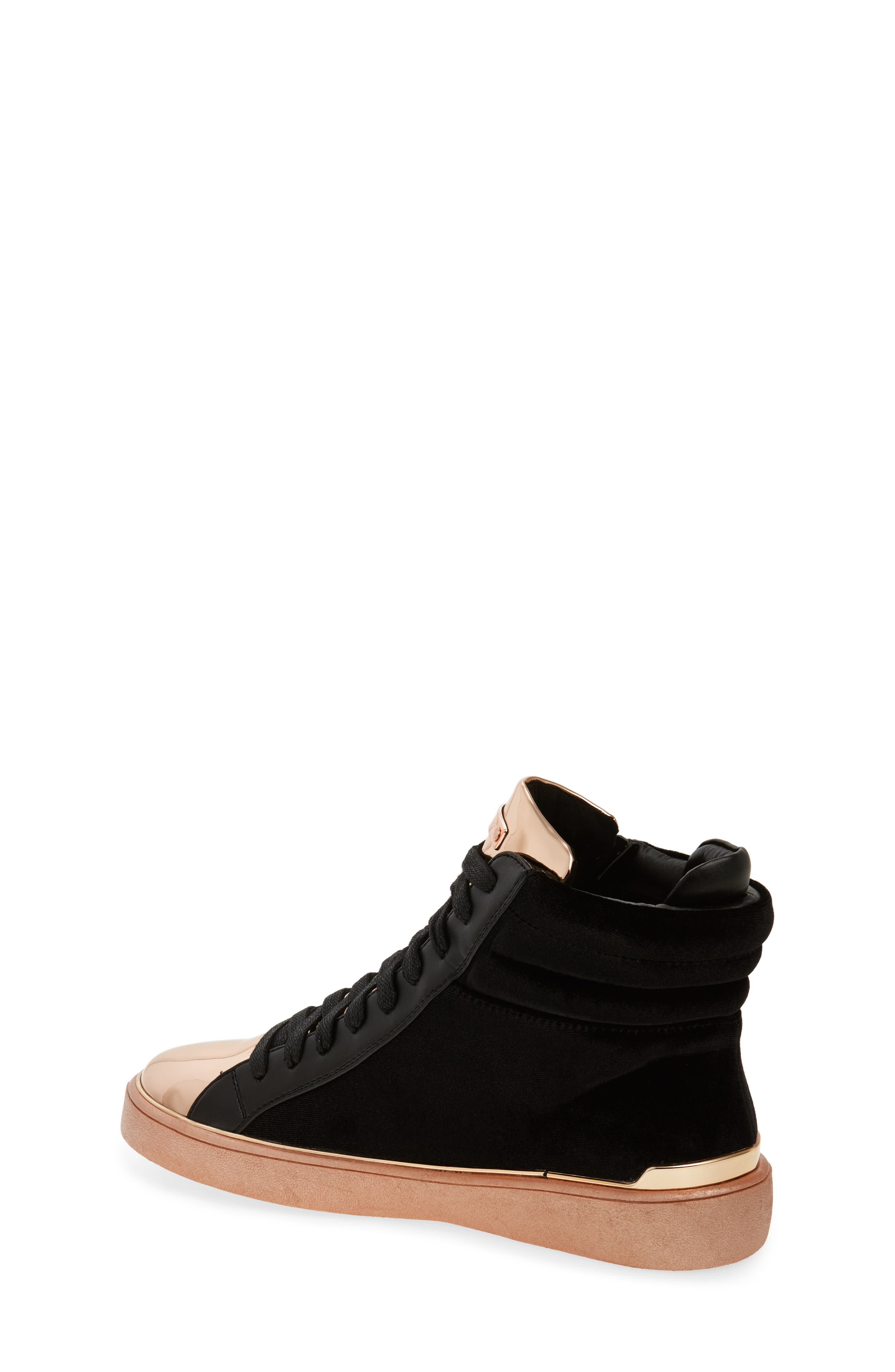 Ivy Blue High Top Sneaker,                             Alternate thumbnail 3, color,