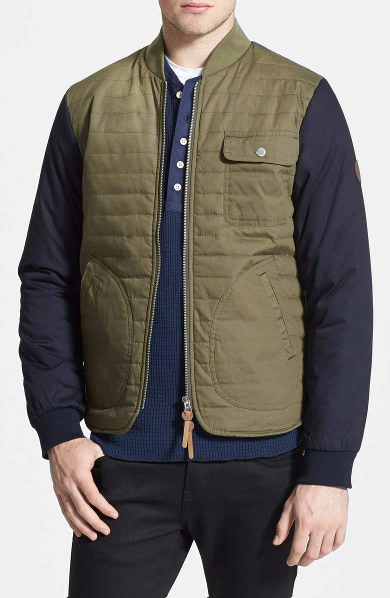 Native Youth Quilted Varsity Jacket Nordstrom