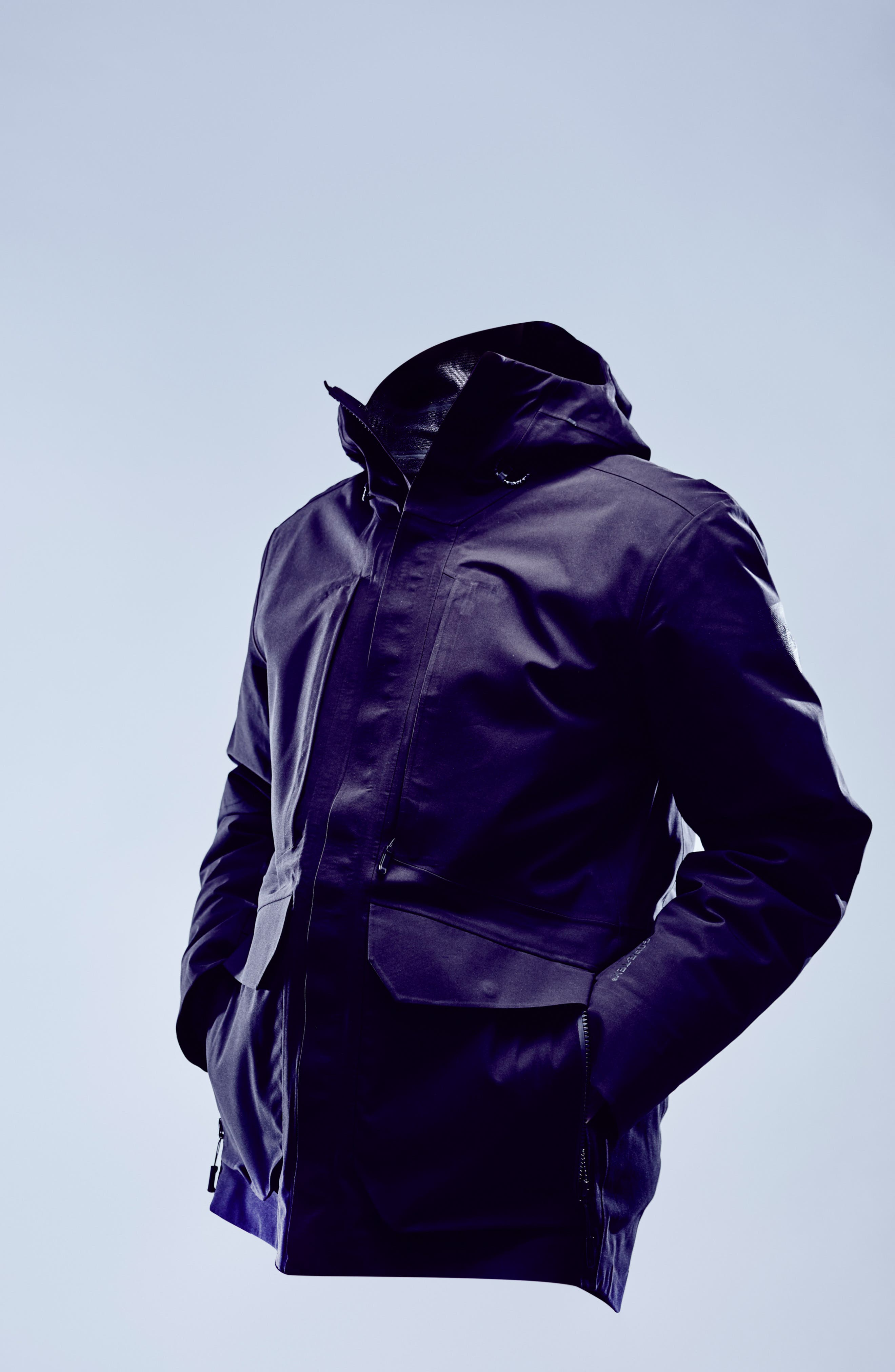 Cryos Gore-Tex<sup>®</sup> Tri-Climate 3-in-1 Jacket,                             Alternate thumbnail 7, color,                             TNF BLACK