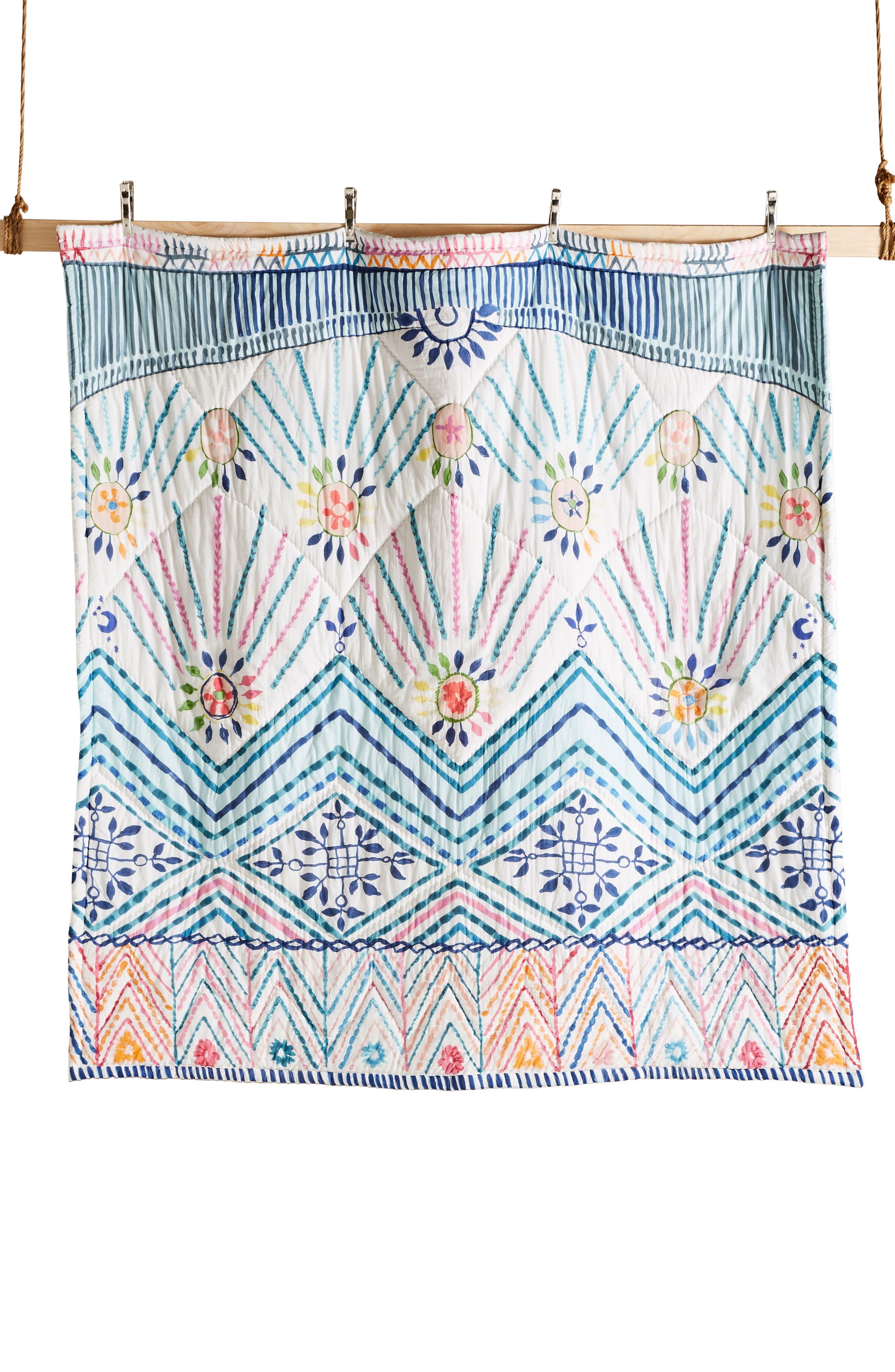 Zadar Quilt,                             Alternate thumbnail 3, color,                             WHITE MULTI