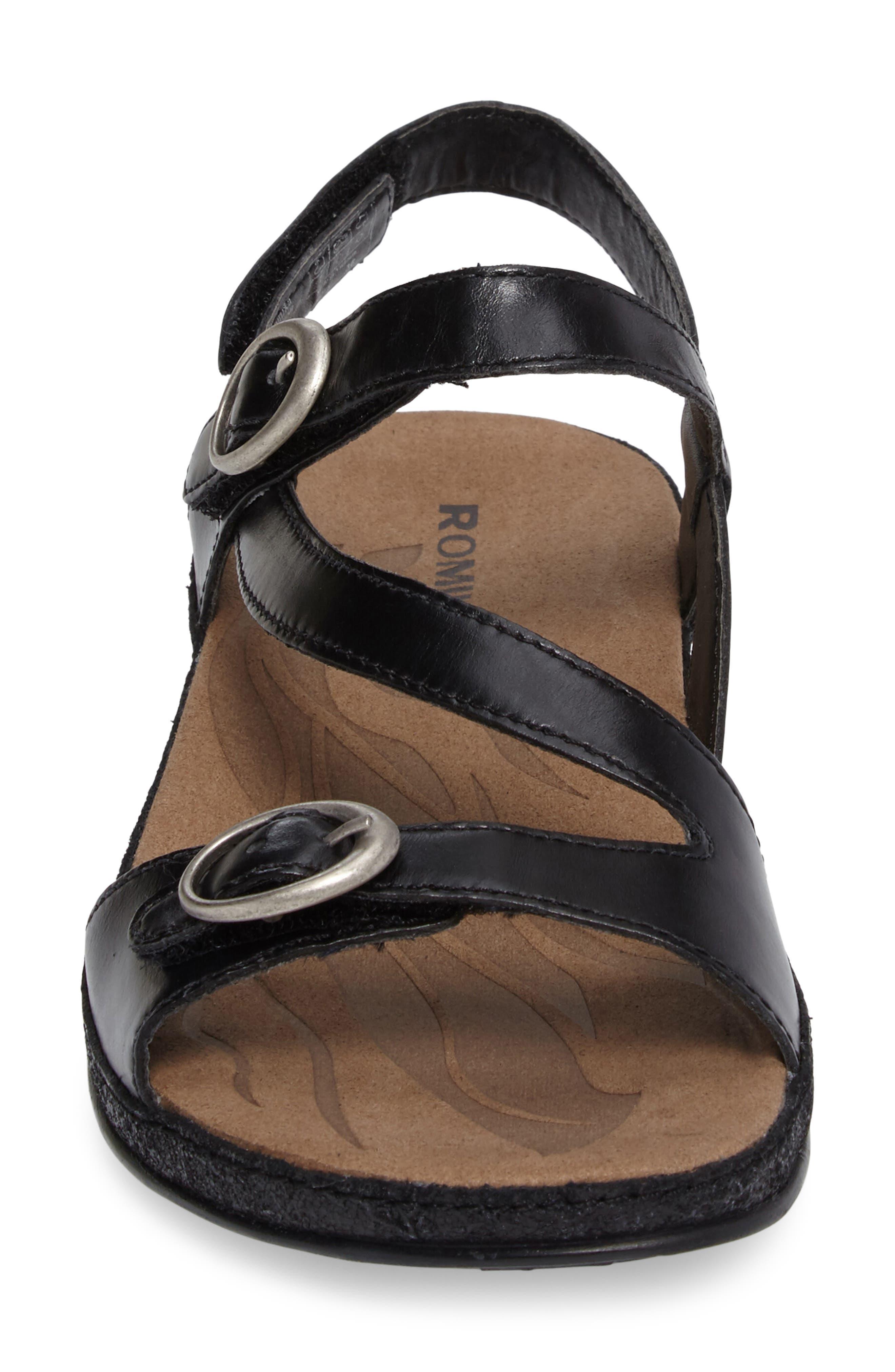 Fidschi 48 Sandal,                             Alternate thumbnail 4, color,                             001