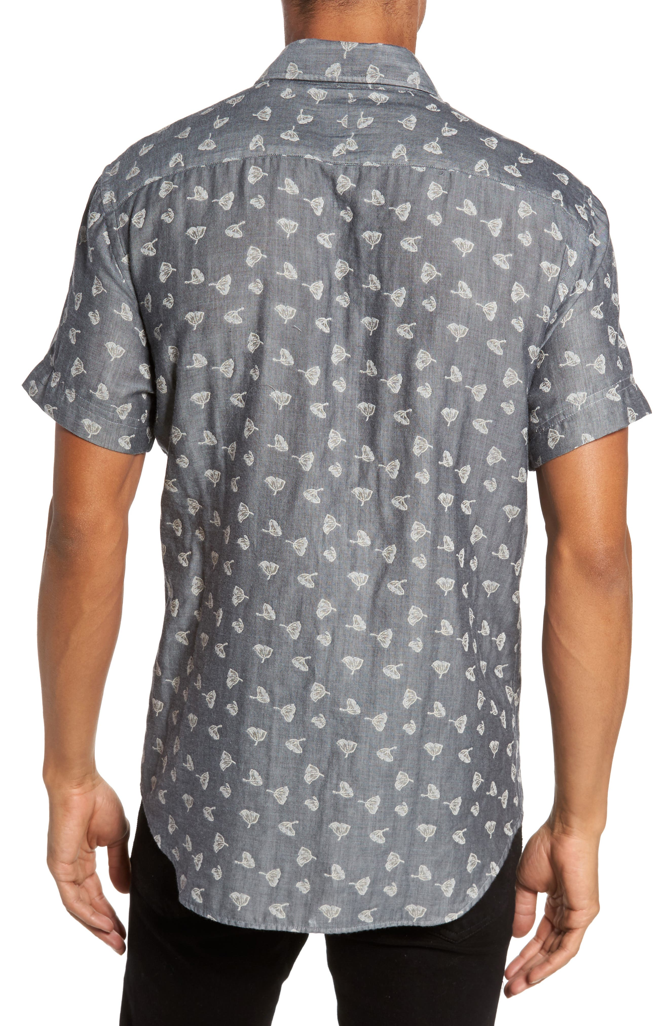 Kirby Print Sport Shirt,                             Alternate thumbnail 2, color,                             425