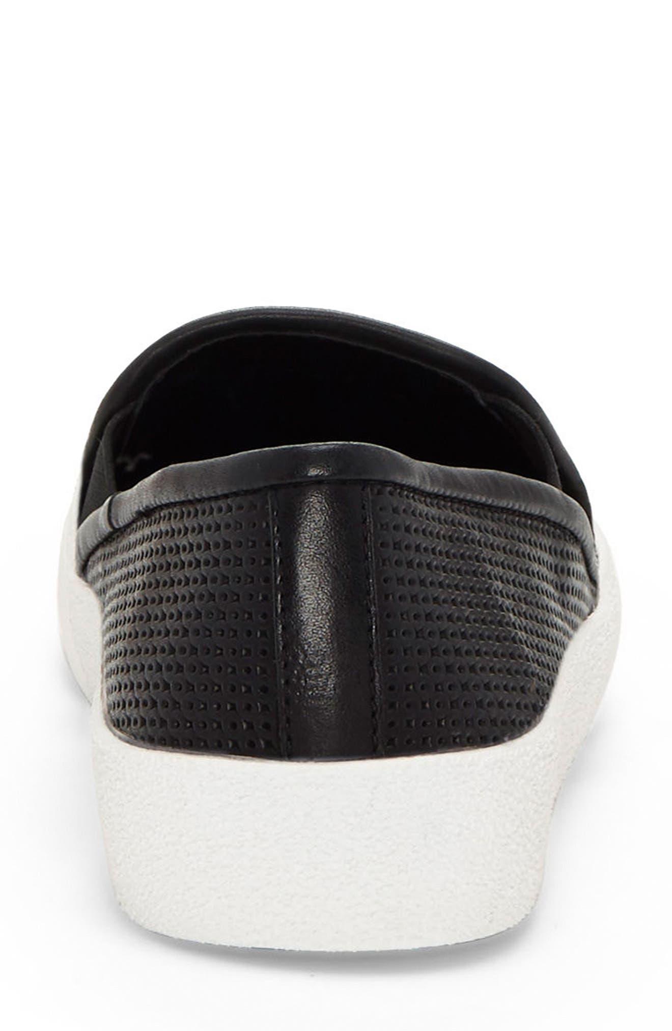 Cariana Slip-On Sneaker,                             Alternate thumbnail 8, color,                             001