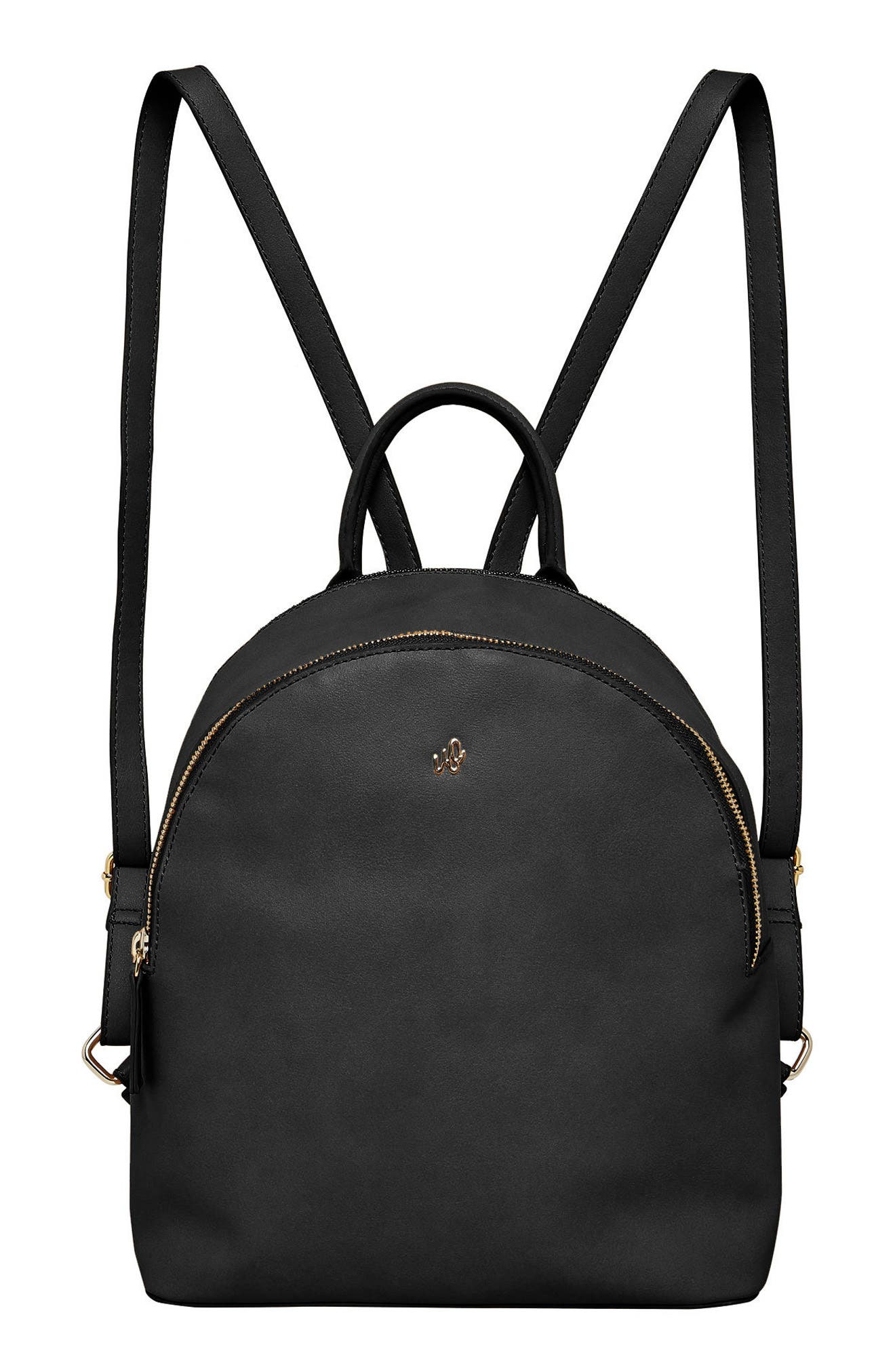 Magic Vegan Leather Backpack,                             Main thumbnail 1, color,                             001