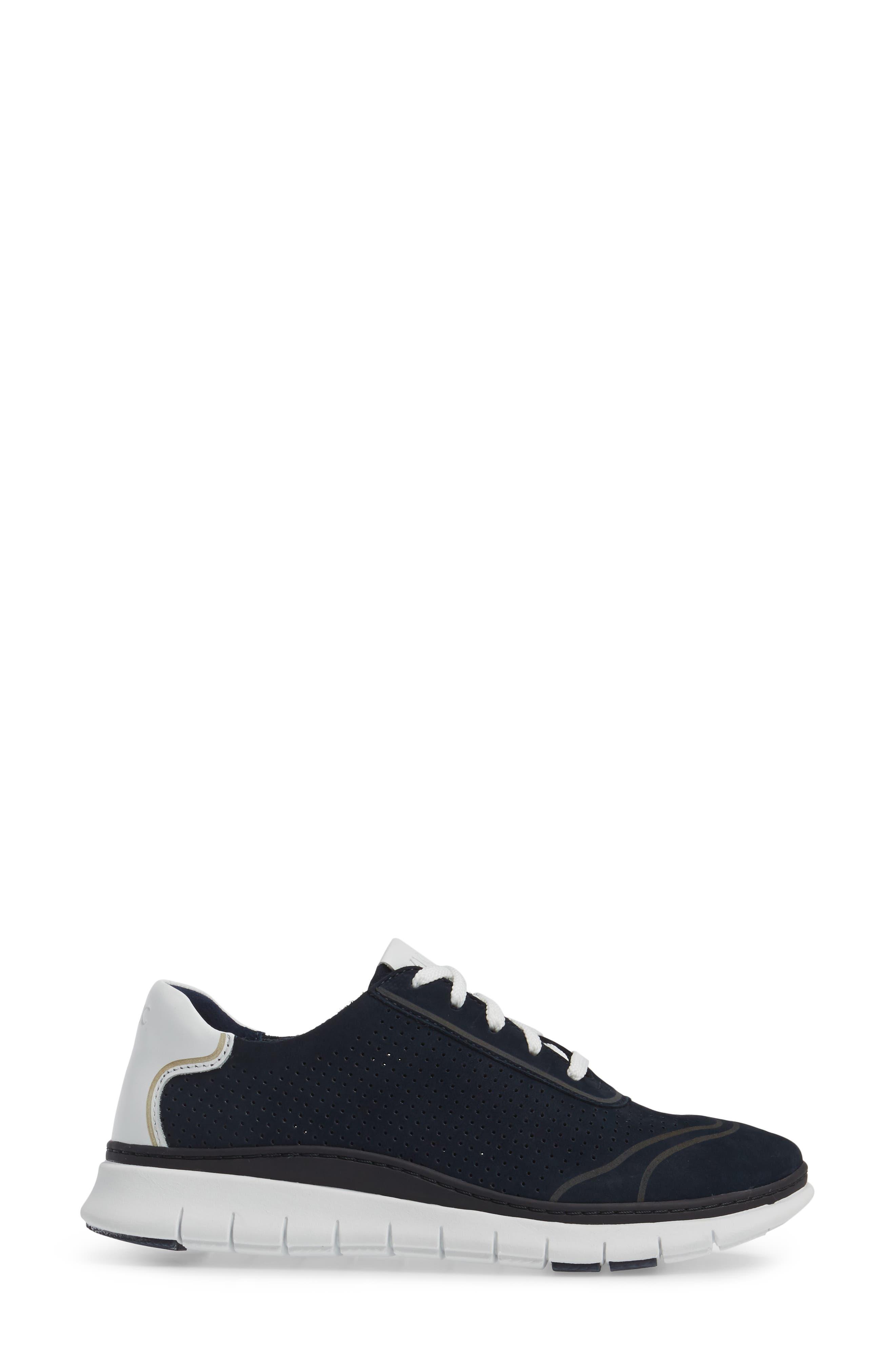 Fresh Riley Perforated Sneaker,                             Alternate thumbnail 12, color,