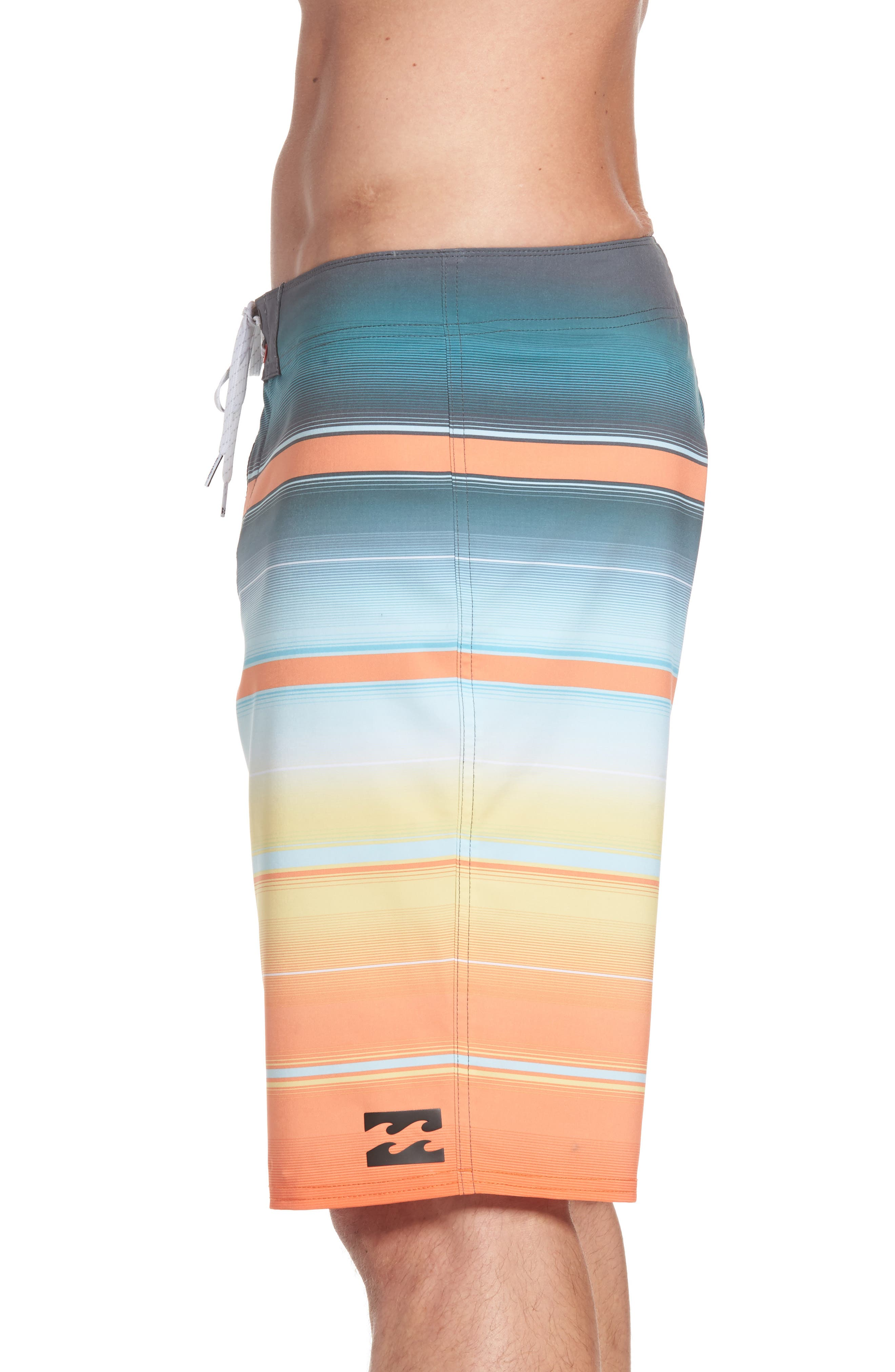 All Day X Stripe Board Shorts,                             Alternate thumbnail 15, color,