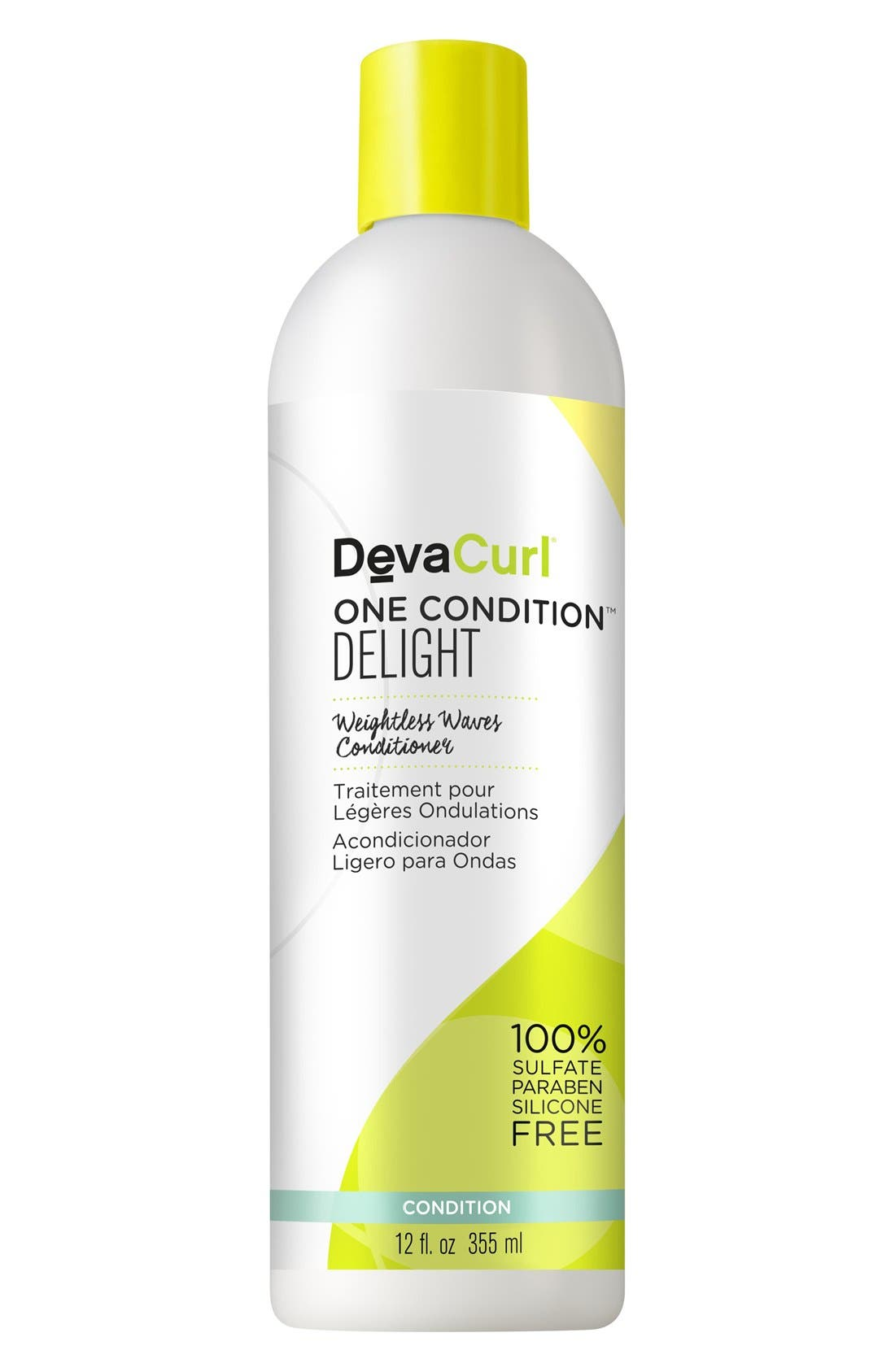 One Condition Delight Weightless Waves Conditioner,                             Alternate thumbnail 3, color,                             NO COLOR