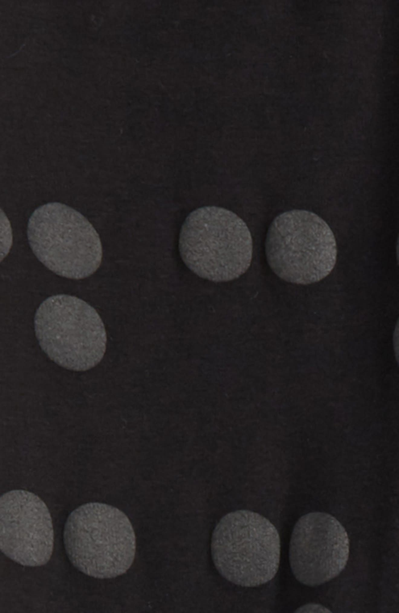 Braille Dot Leggings,                             Alternate thumbnail 2, color,                             001