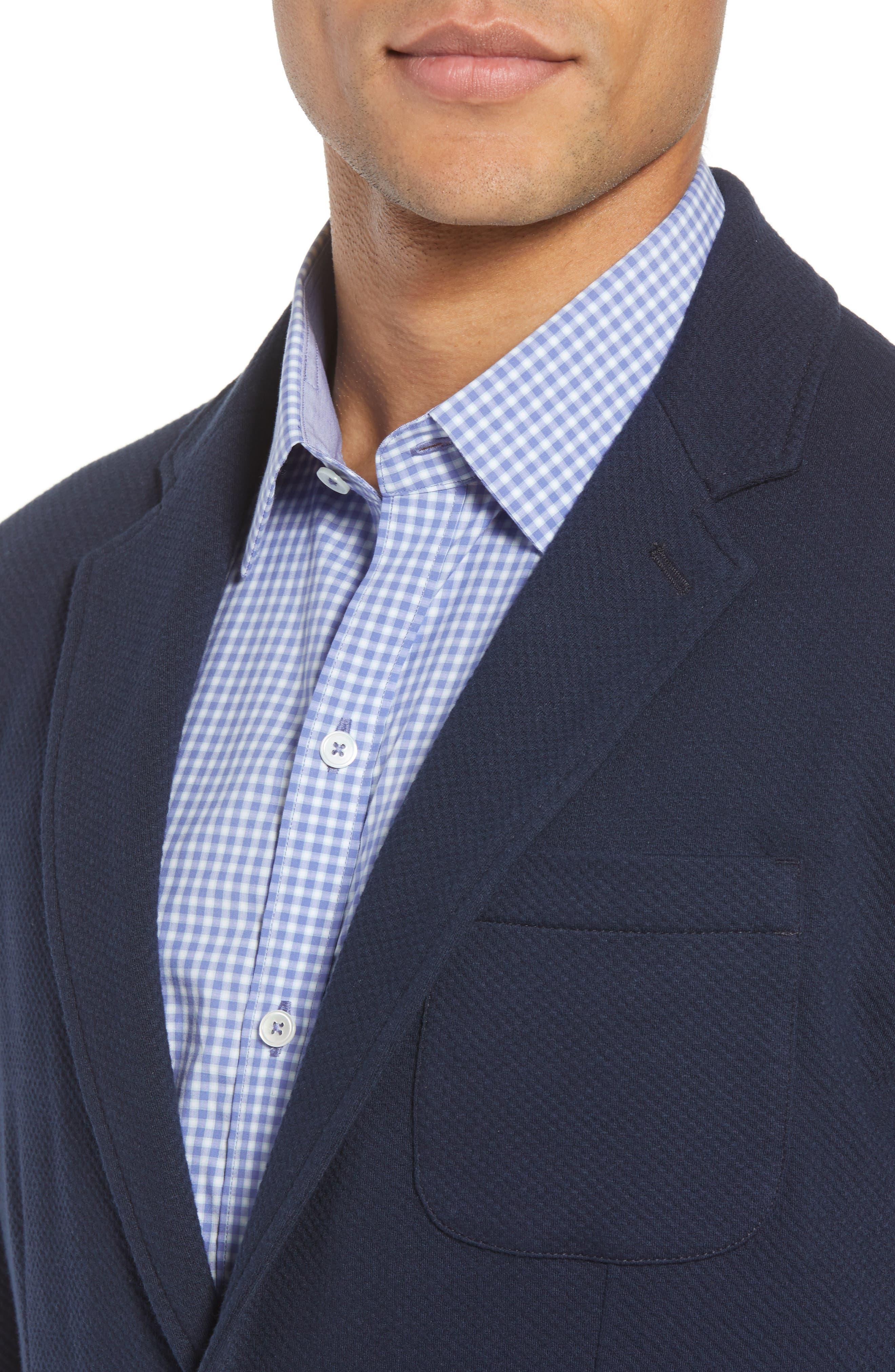Baylor Regular Fit Knit Sport Coat,                             Alternate thumbnail 4, color,                             410