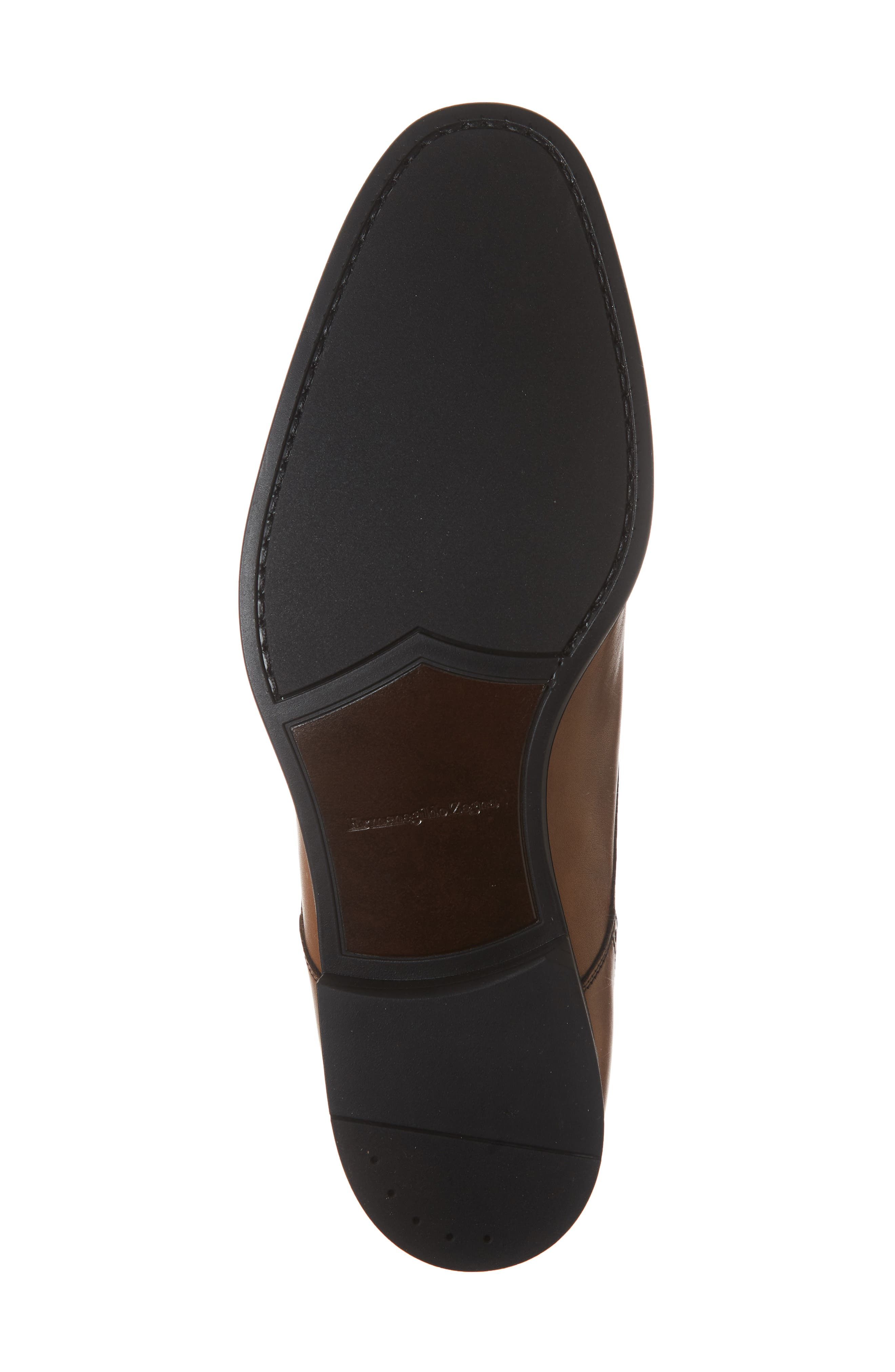 Cap Toe Derby,                             Alternate thumbnail 6, color,                             VICUNA BROWN