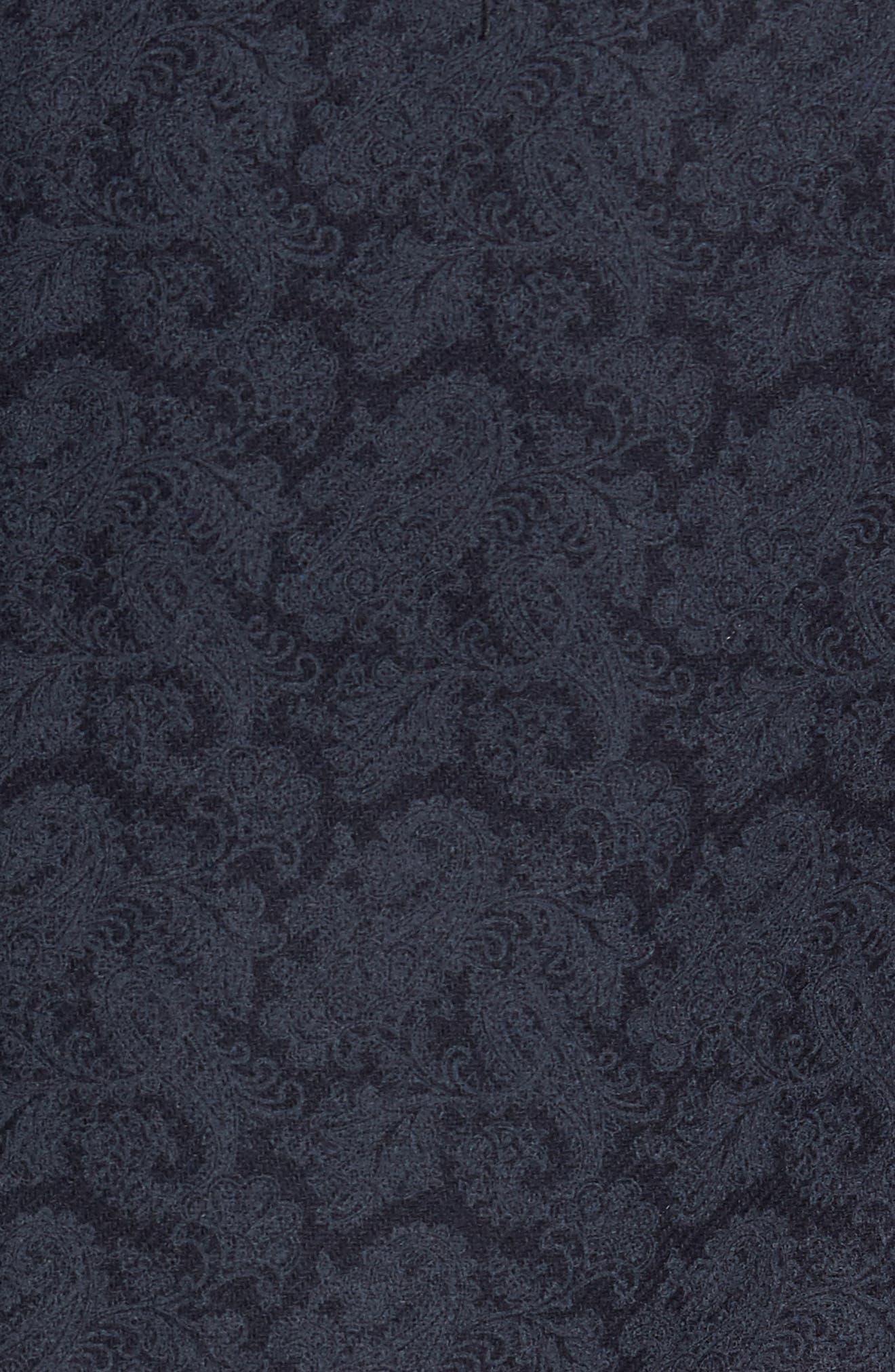 Trim Fit Paisley Wool Blend Sport Coat,                             Alternate thumbnail 6, color,                             403