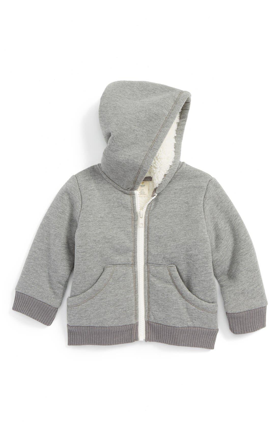 Fuzzy Lined Jacket,                             Main thumbnail 1, color,                             030