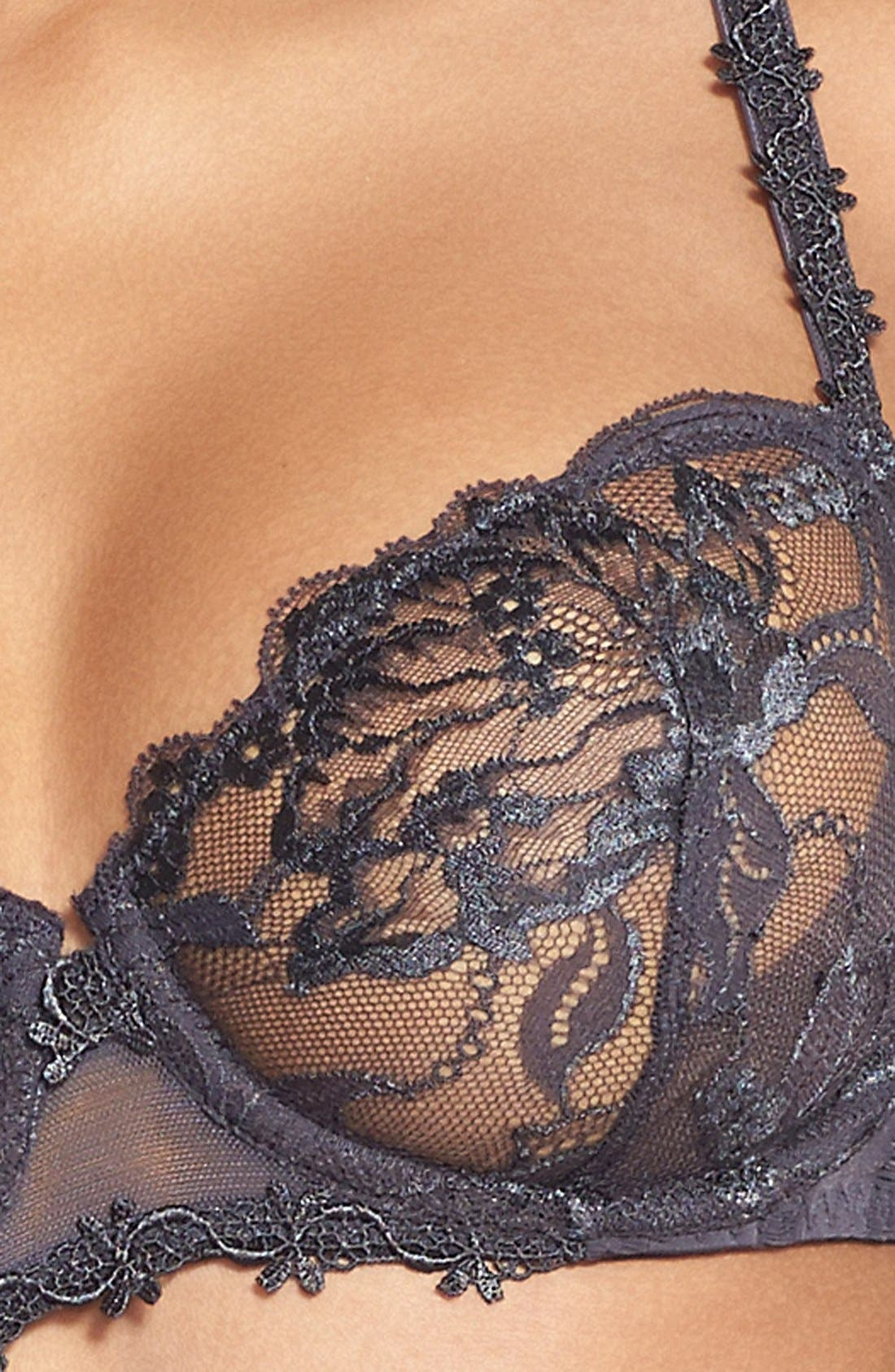 'Amour' Underwire Demi Bra,                             Alternate thumbnail 24, color,
