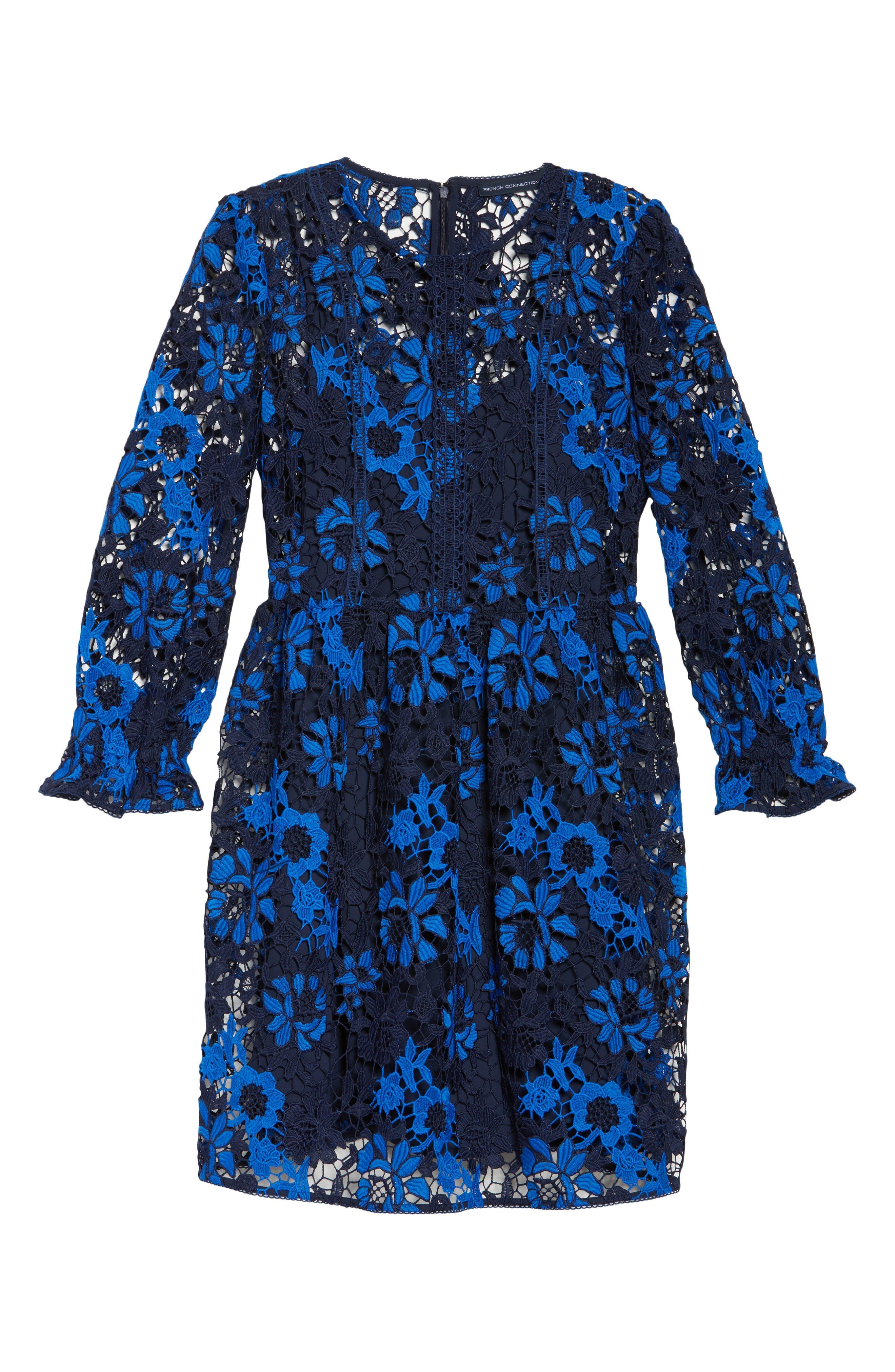 Musa Lace Dress,                             Alternate thumbnail 6, color,