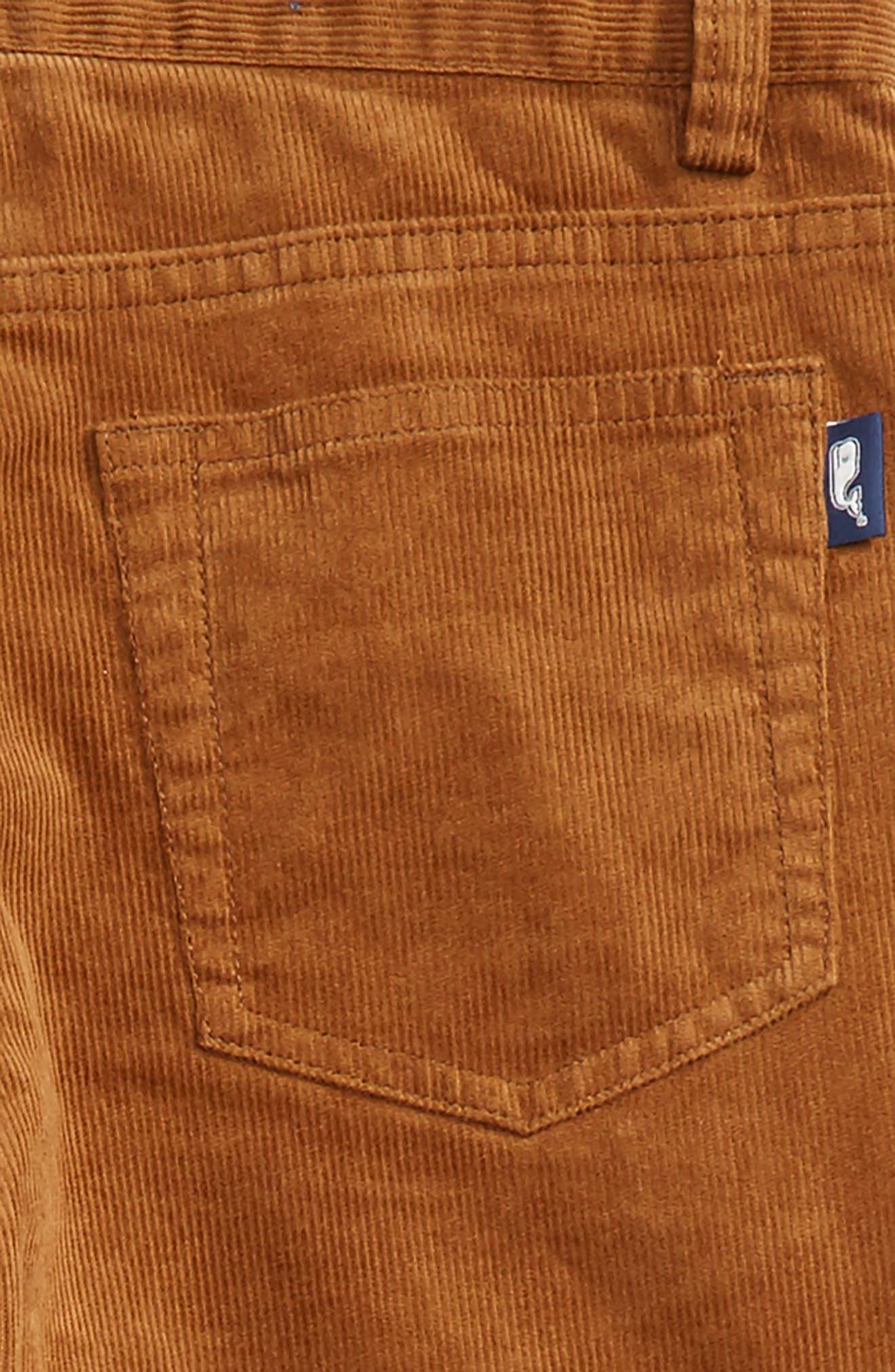 Straight Leg Corduroy Pants,                             Alternate thumbnail 10, color,