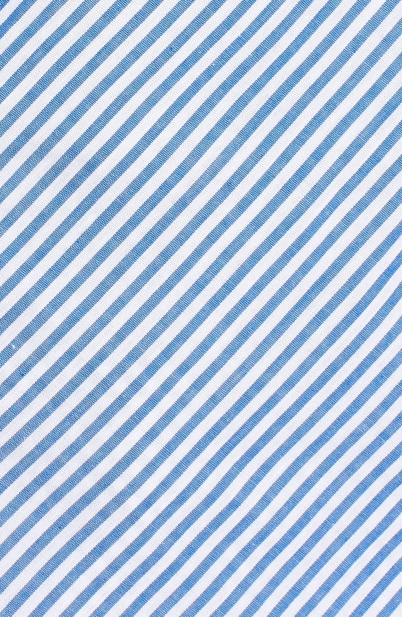 Stripe Wrap Top,                             Alternate thumbnail 6, color,                             400