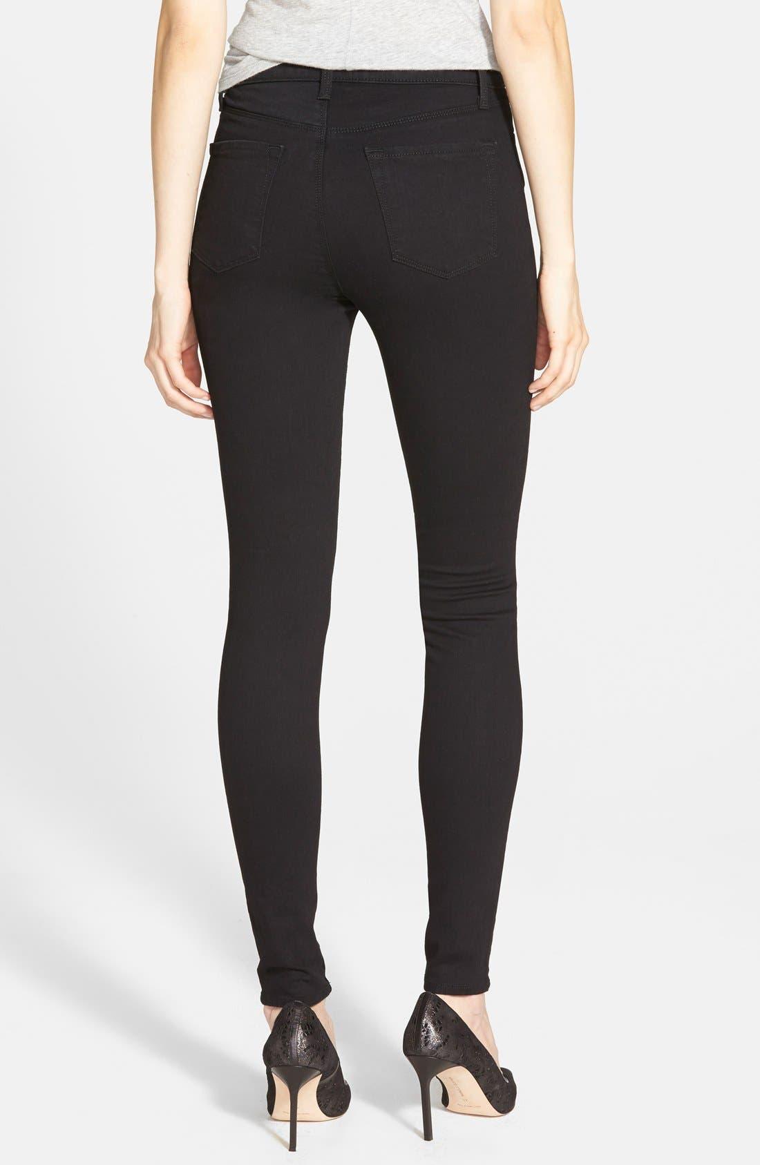 Maria High Waist Skinny Jeans,                             Alternate thumbnail 14, color,