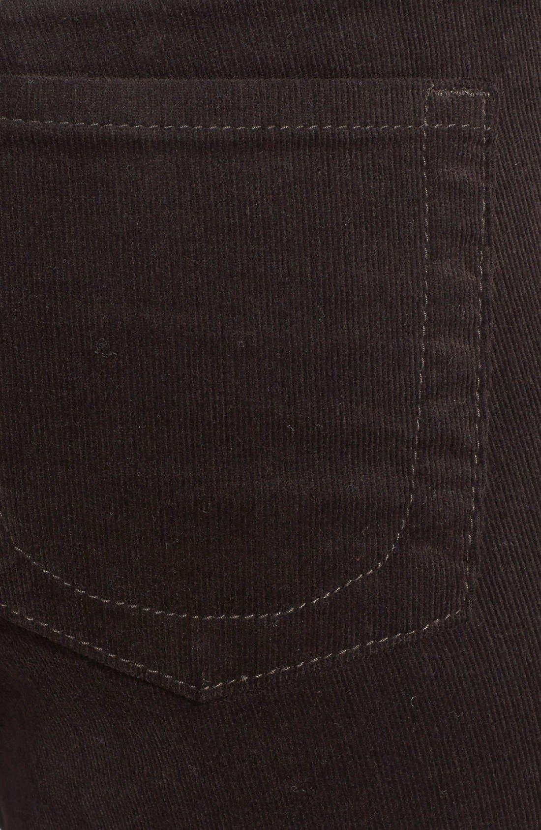 'Diana' Stretch Corduroy Skinny Pants,                             Alternate thumbnail 111, color,