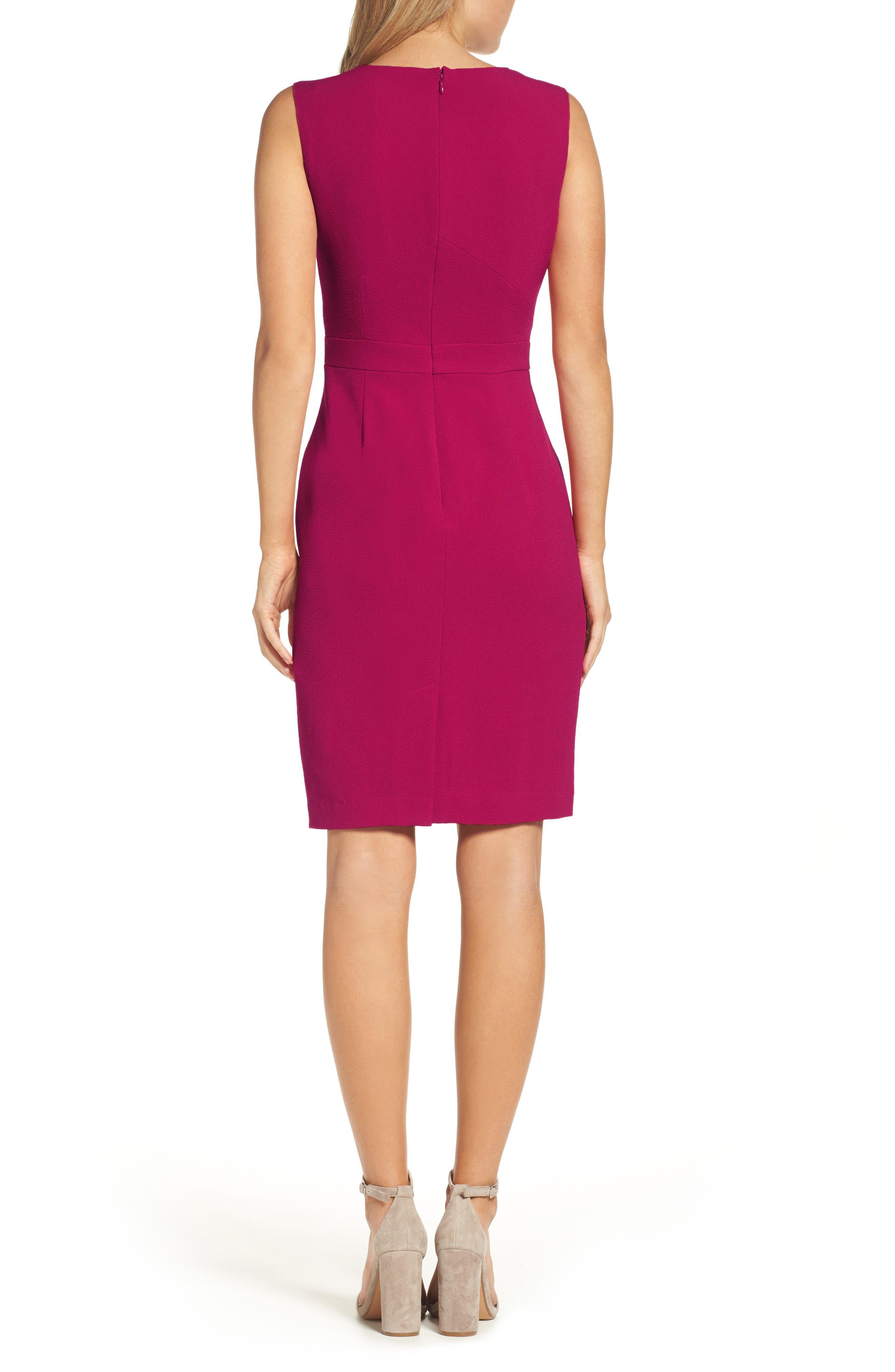 Seamed Sheath Dress,                             Alternate thumbnail 2, color,