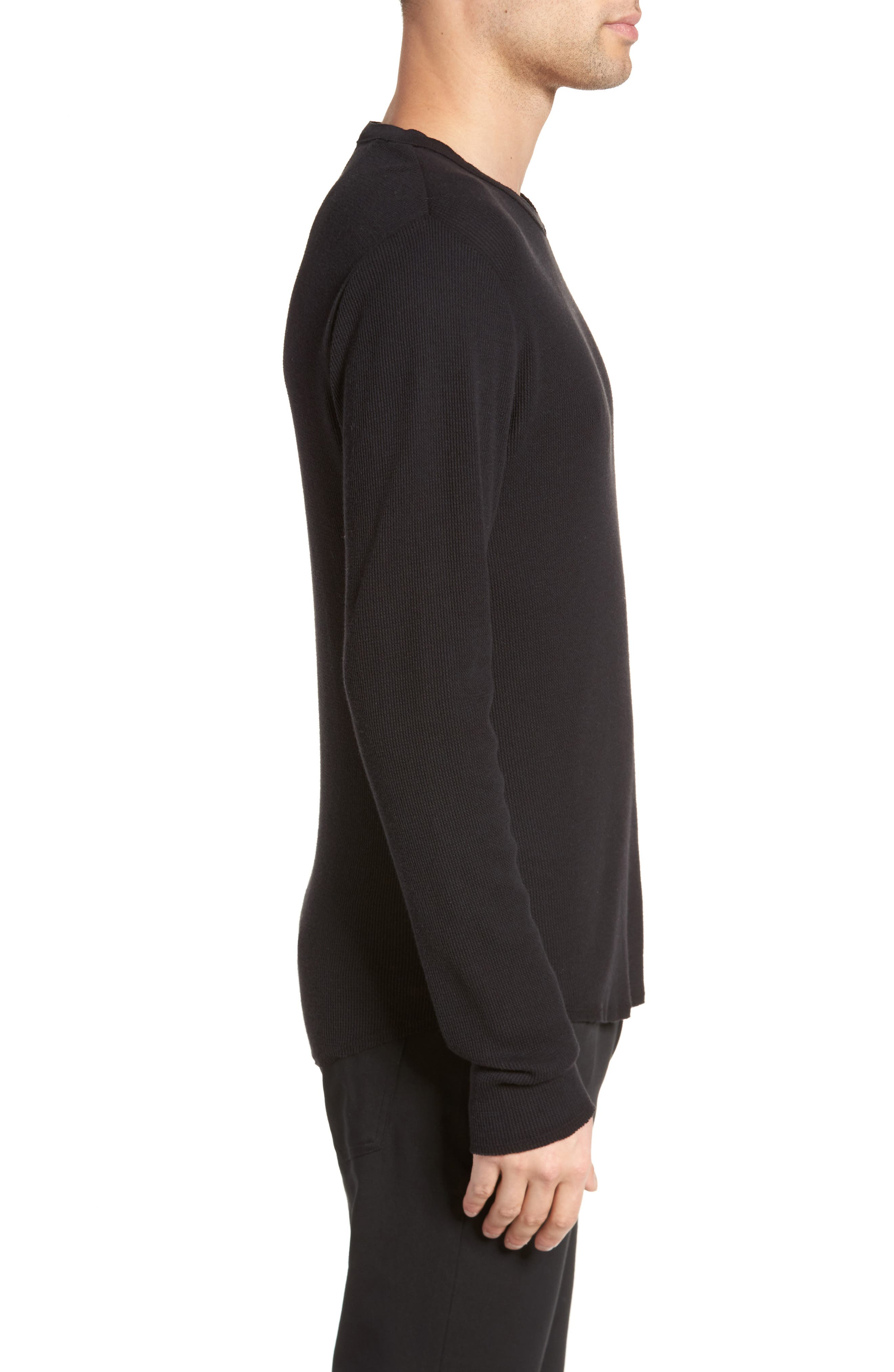 Thermal Knit Long Sleeve T-Shirt,                             Alternate thumbnail 7, color,